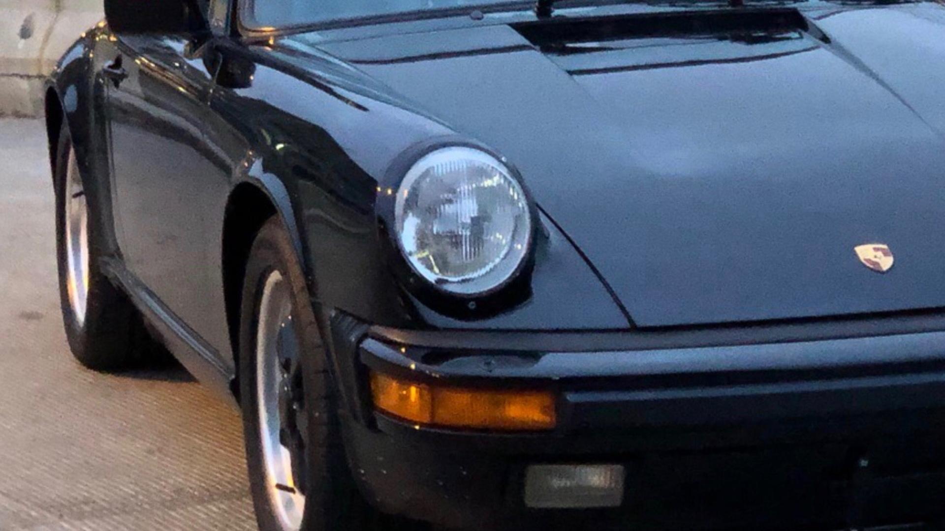 1986 Porsche 911 Carrera Targa owned by Tom Cruise (photo via Bring a Trailer)