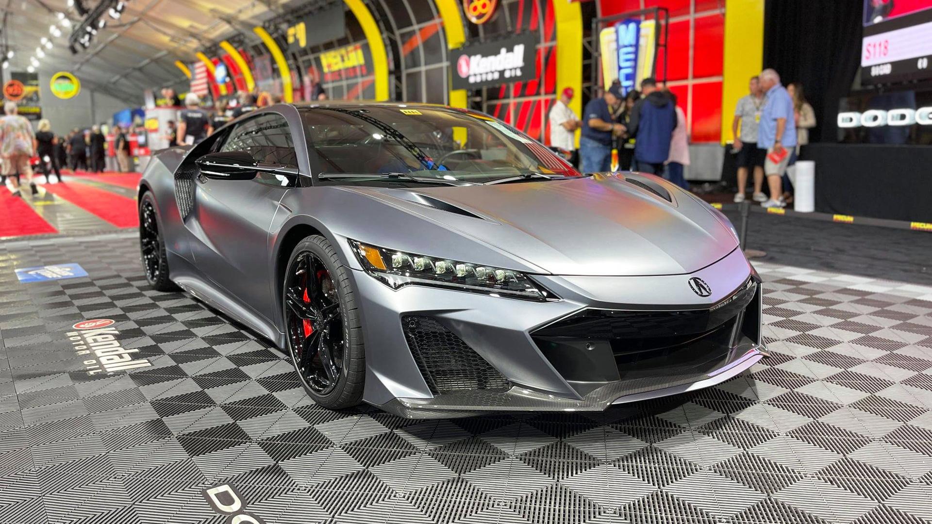 2022 Acura NSX Type S at Mecum's 2021 Monterey Car Week sale