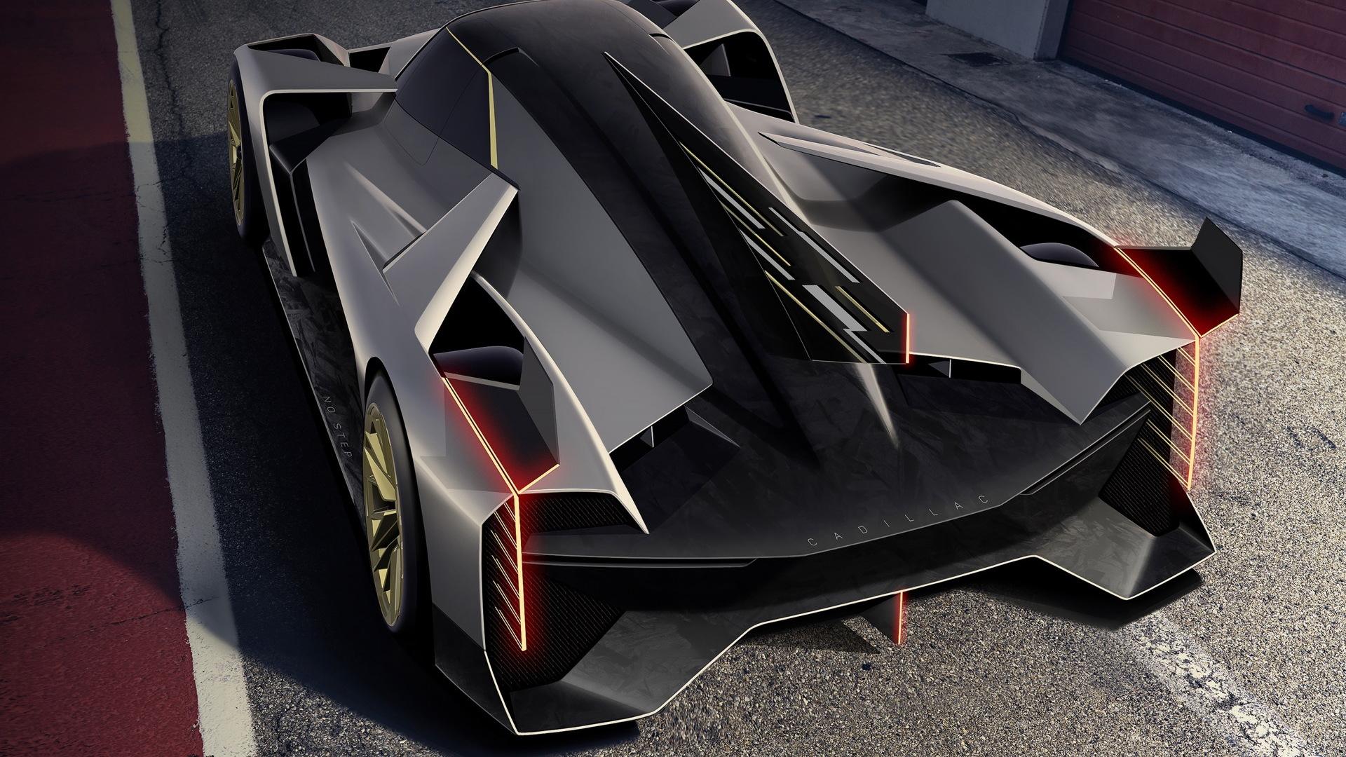 Cadillac LMDh-V.R rendering