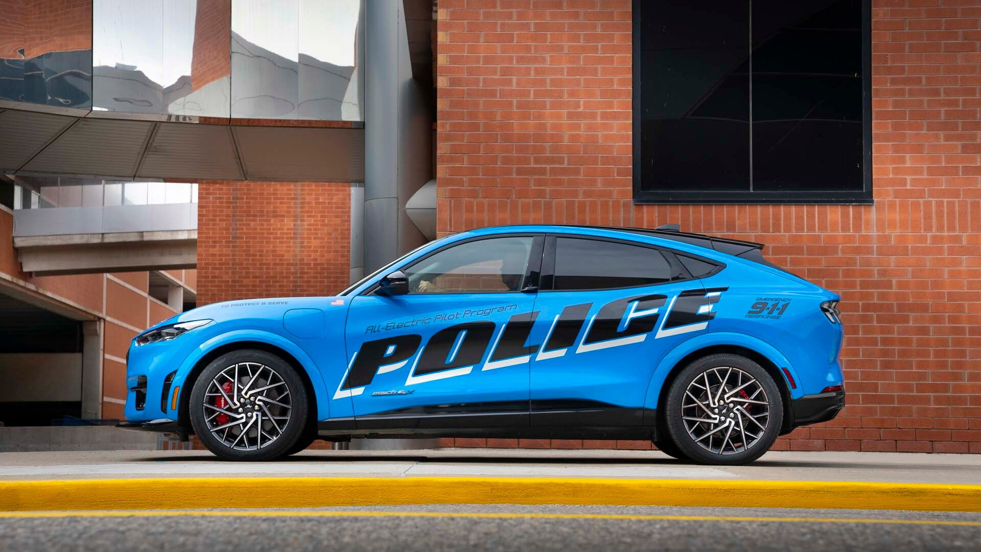 2021 Ford Mustang Mach-E police pilot vehicle