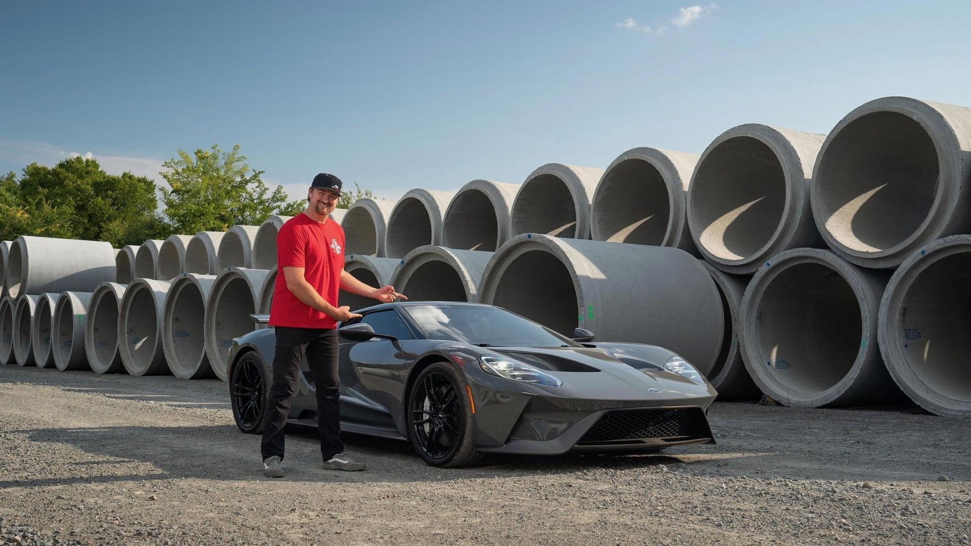 2018 Ford GT owned by Vaughn Gittin Jr. (photo via Bring a Trailer)