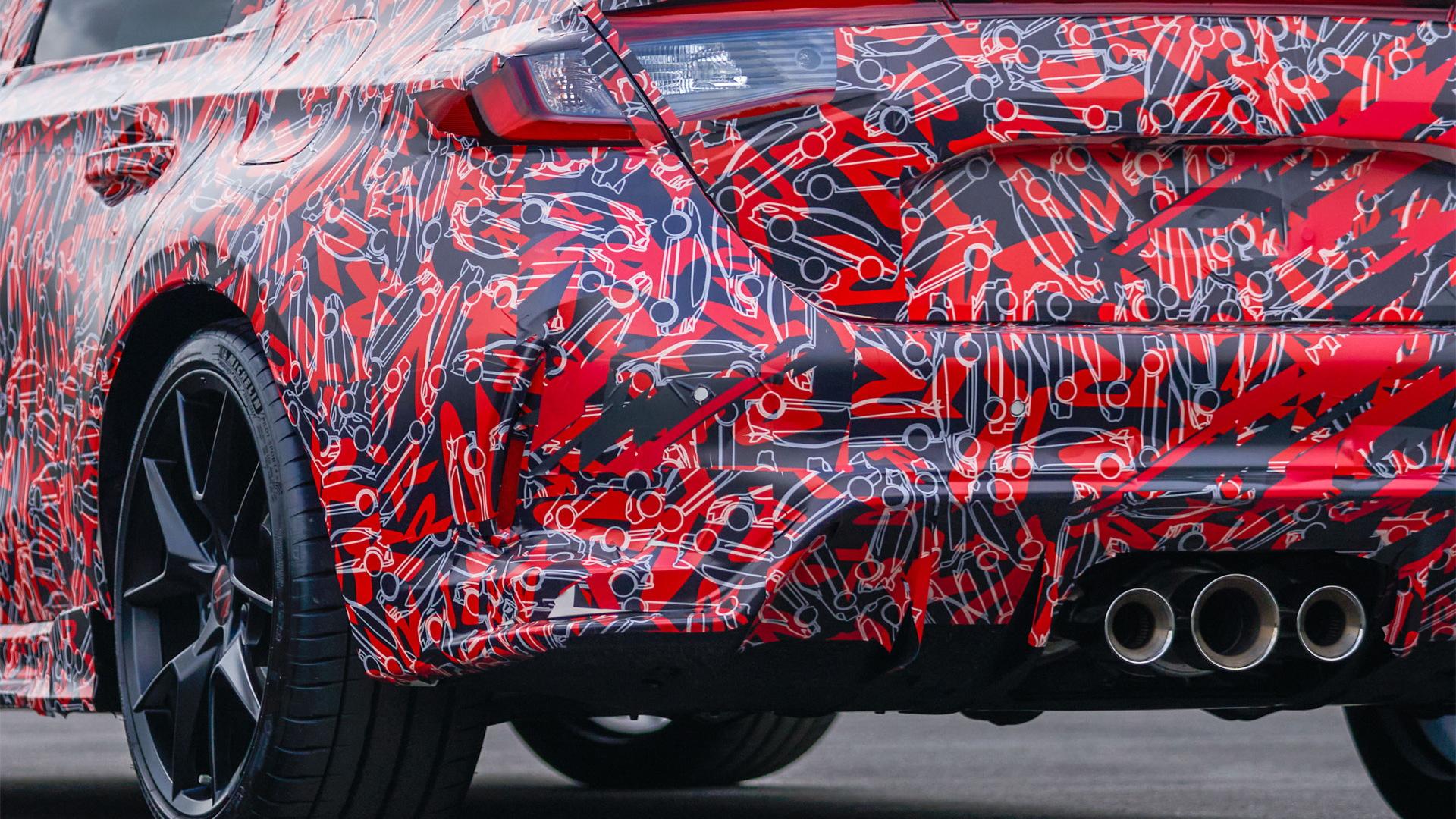 2023 Honda Civic Type R teased ahead of 2022 debut