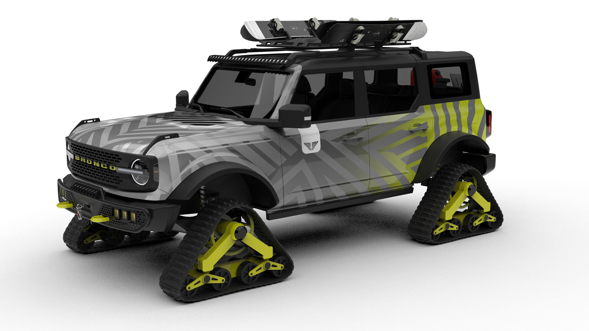 2021 Ford Bronco by Tucci Hot Rods