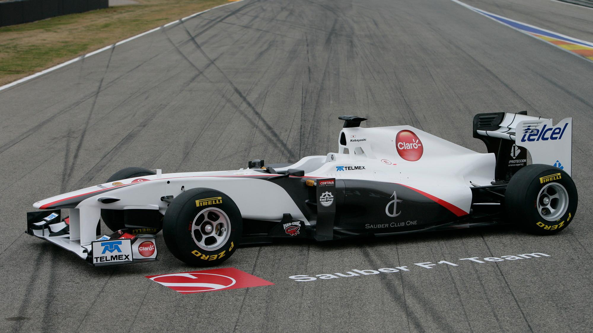 2011 Sauber C30-Ferrari F1 car