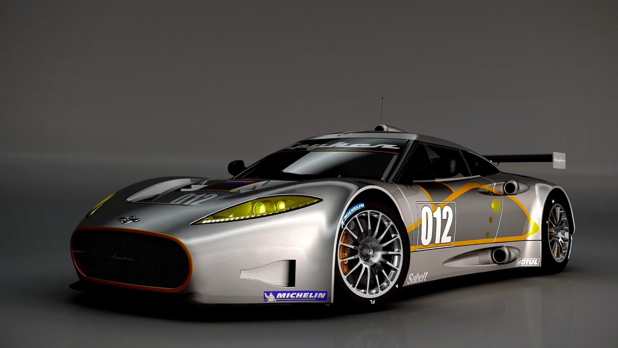 Spyker C8 Aileron GT race car preview