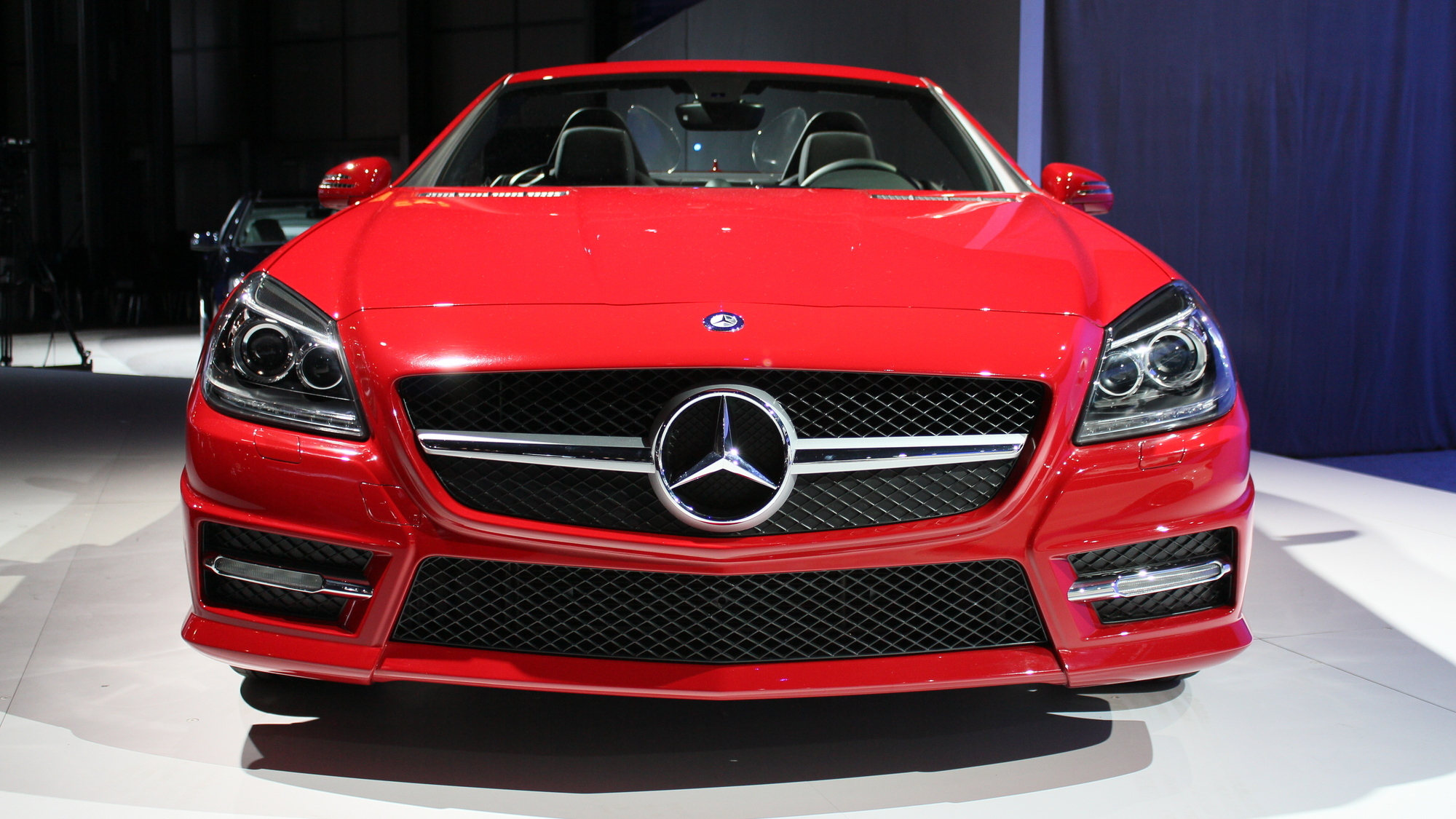 2012 Mercedes-Benz SLK 350 live photos