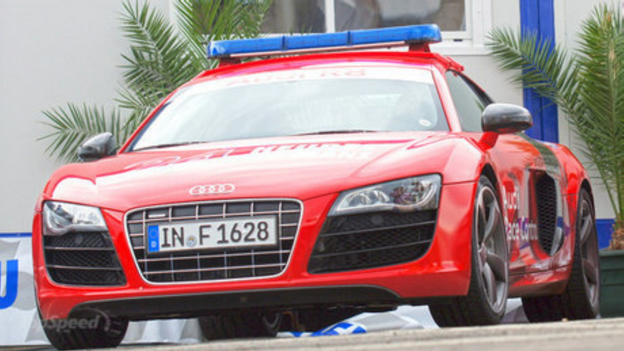 2011 Audi R8 Safety Car