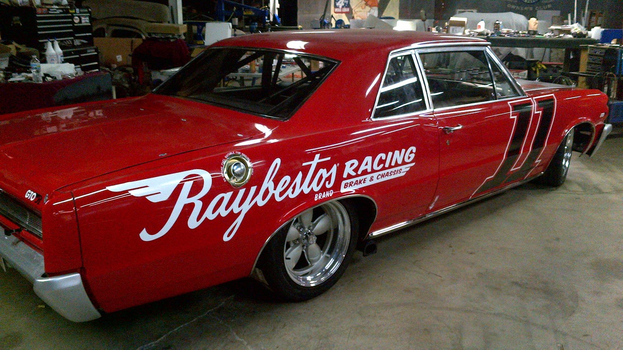 Raybestos 1964 Pontiac GTO-R. Image courtesy of Raybestos.