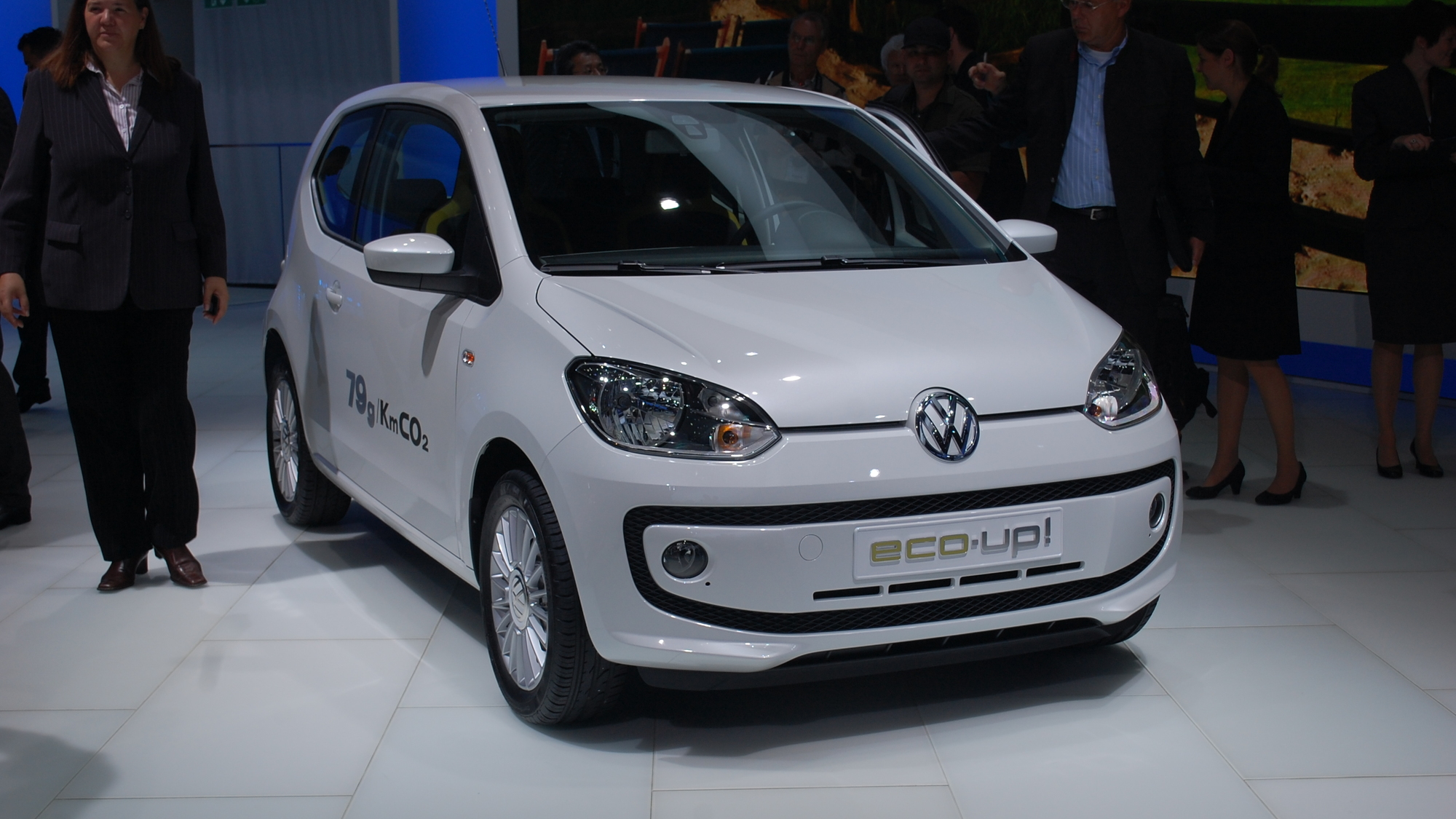 Volkswagen eco-up! live photos, 2011 Frankfurt Auto Show