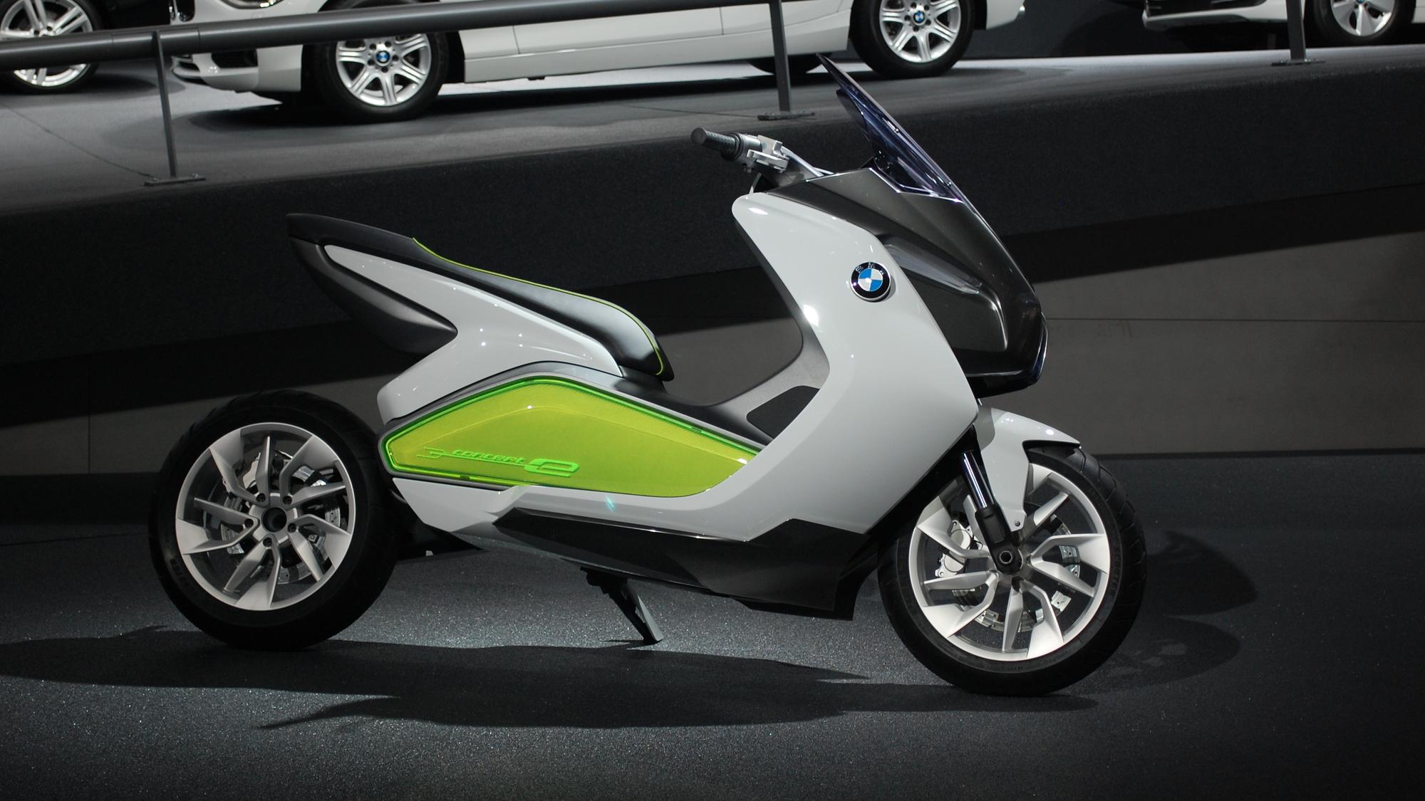 BMW Concept E, 2011 Frankfurt Auto Show