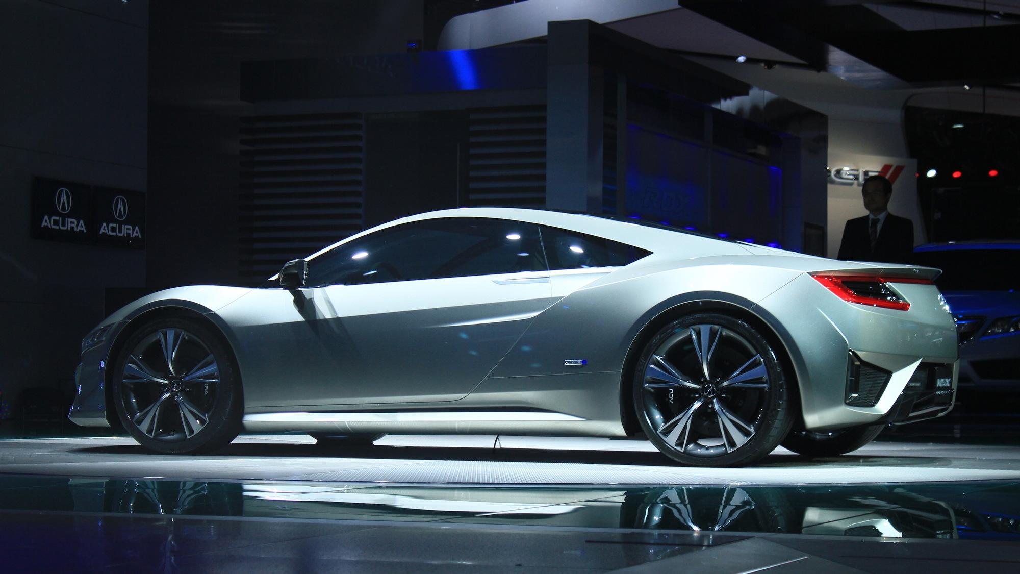 Acura NSX Concept live photos
