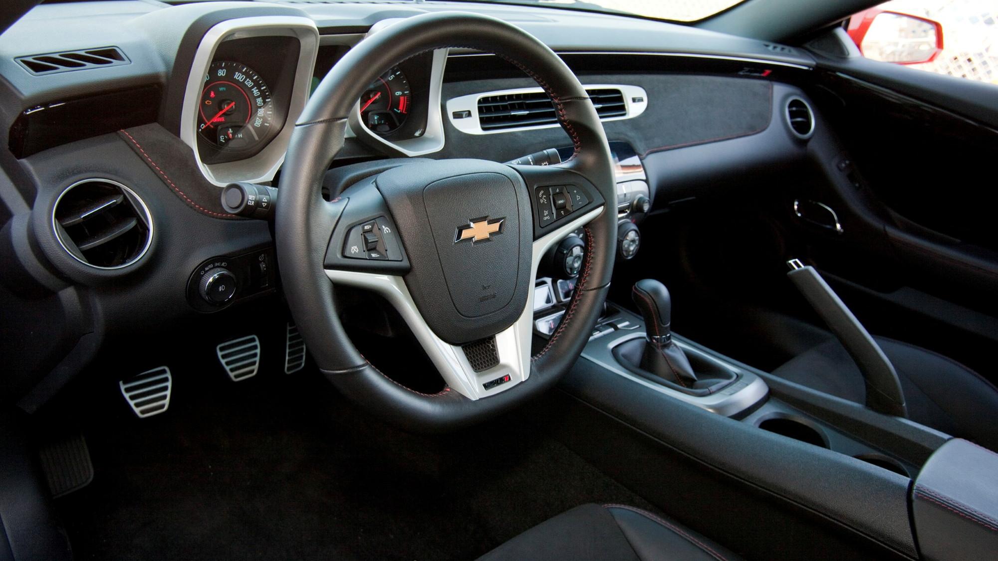 2012 Chevrolet Camaro ZL1 first drive