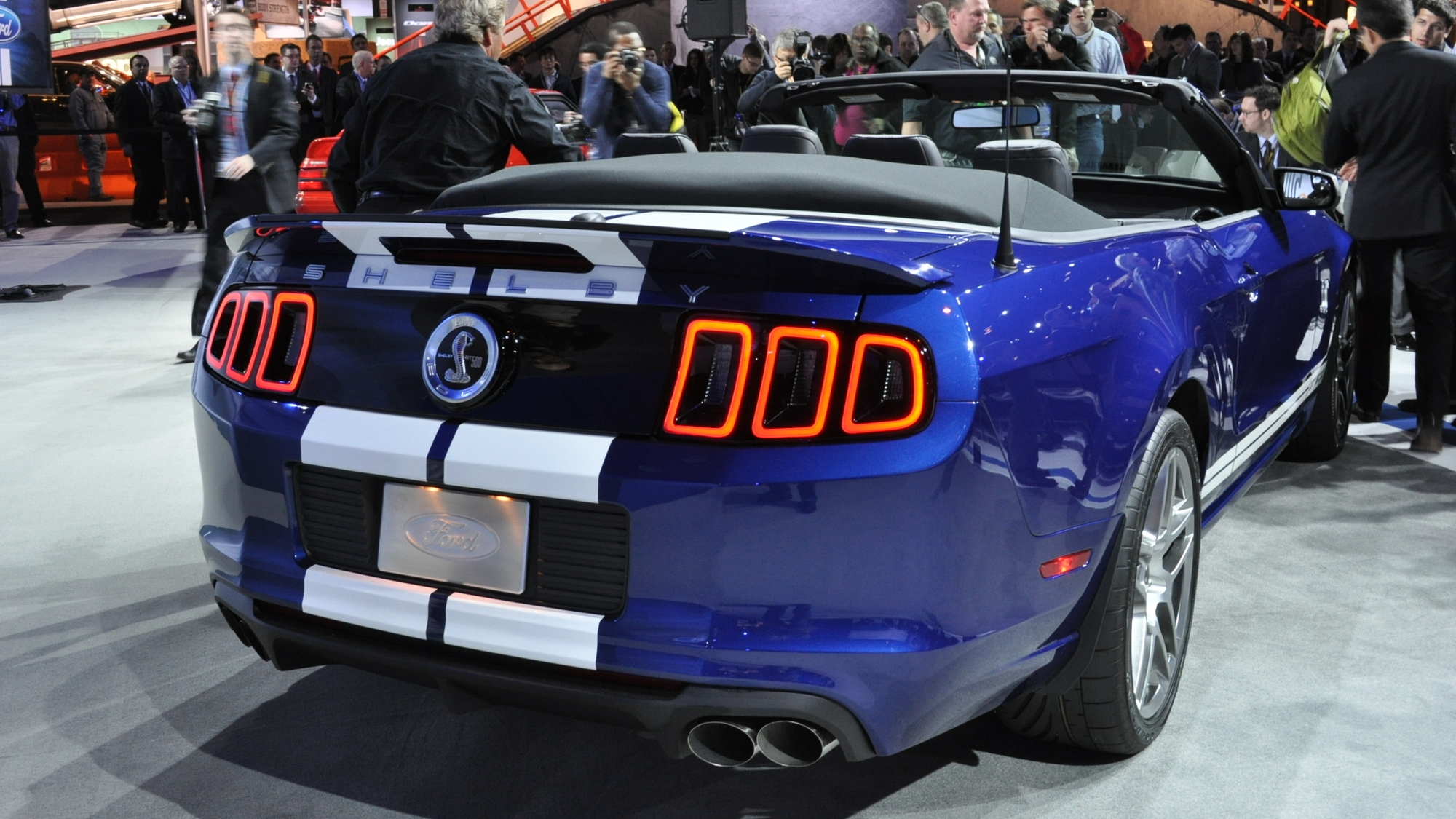Ford Mustang Gt500 Shelby 2013 Occasion