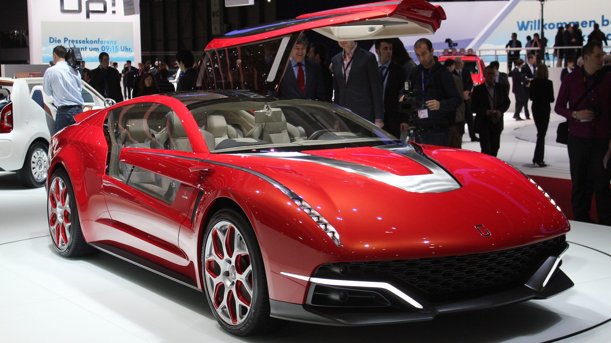 Italdesign Giugiaro Brivido live photos, 2012 Geneva Motor Show