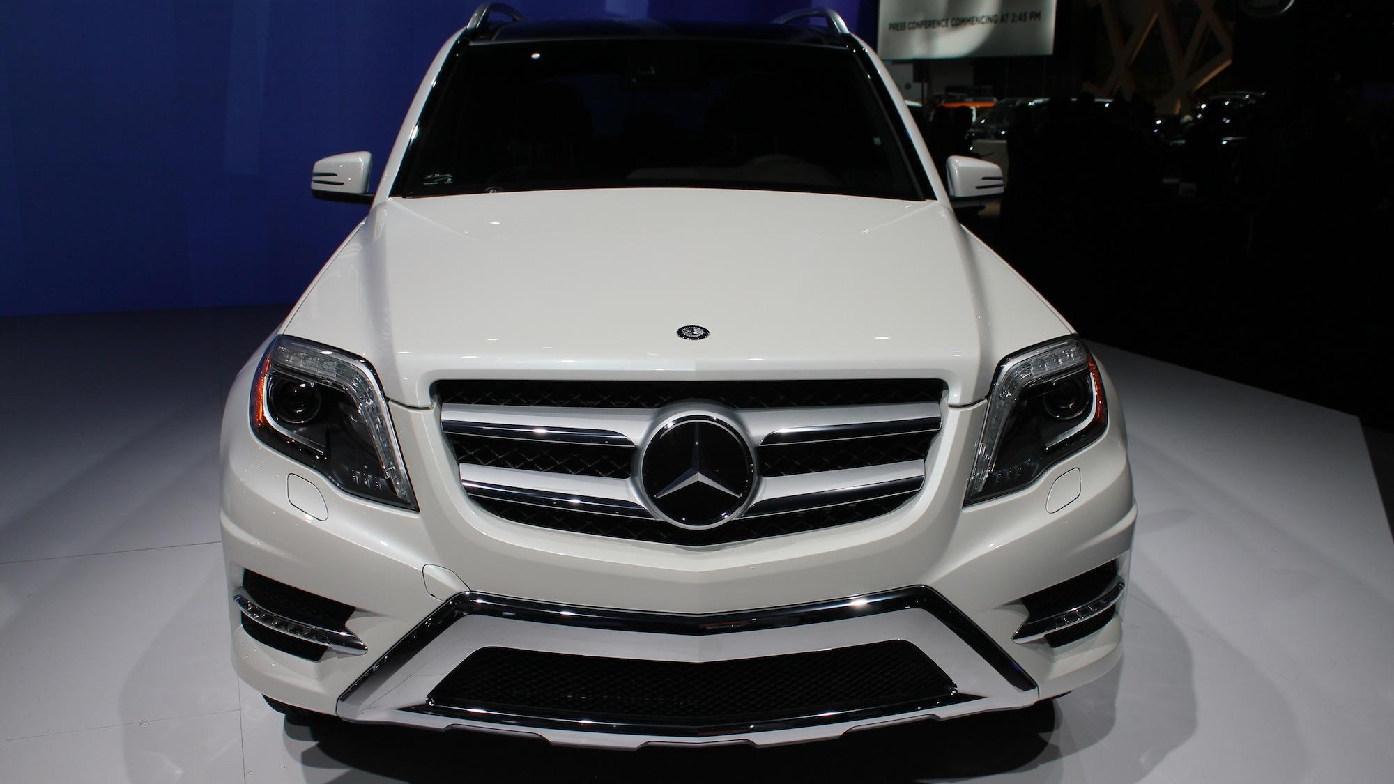 2013 Mercedes-Benz GLK Class, 2012 New York Auto Show