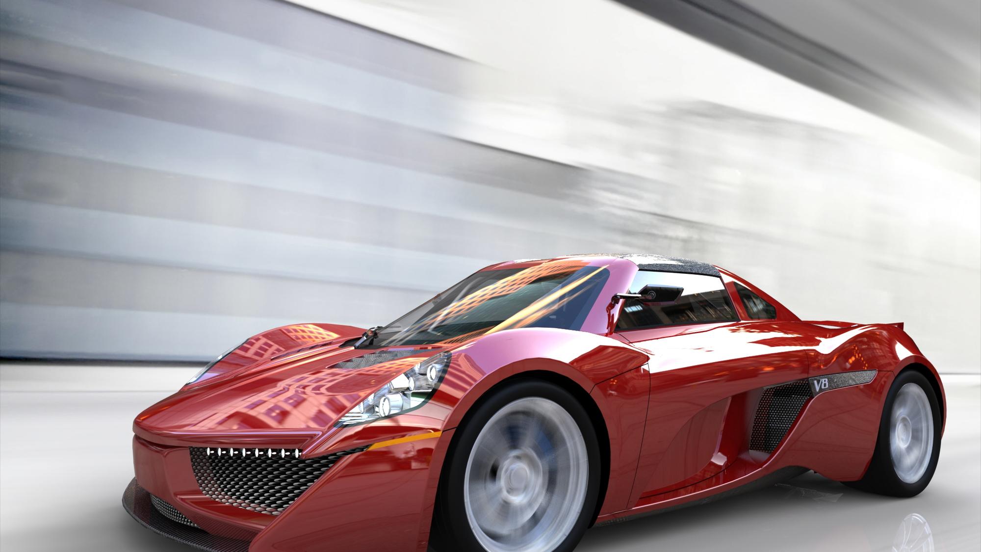 Darren McKeage's Tosa Street Car supercar design