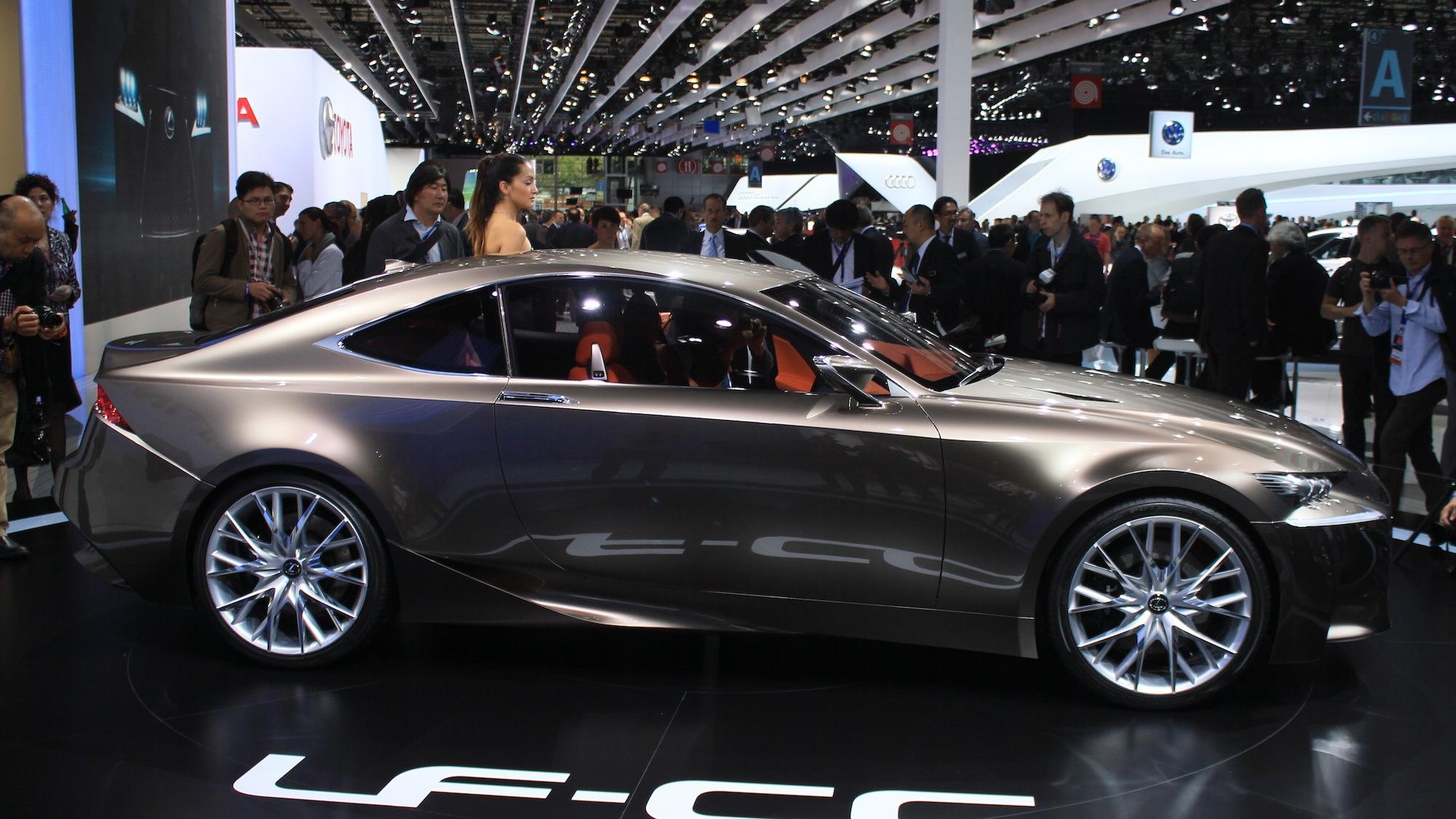 Lexus LF-CC Concept, 2012 Paris Auto Show