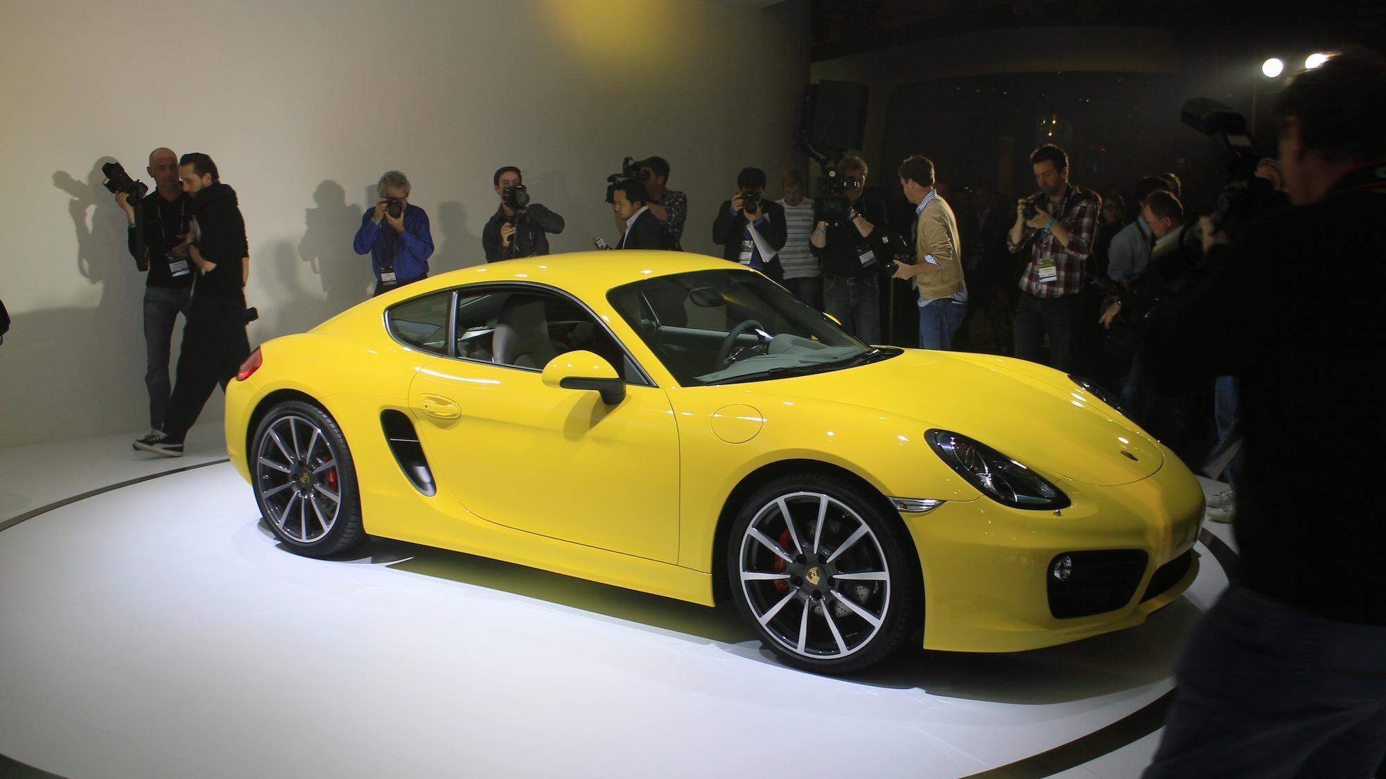 2014 Porsche Cayman S live photos, 2012 L.A. Auto Show