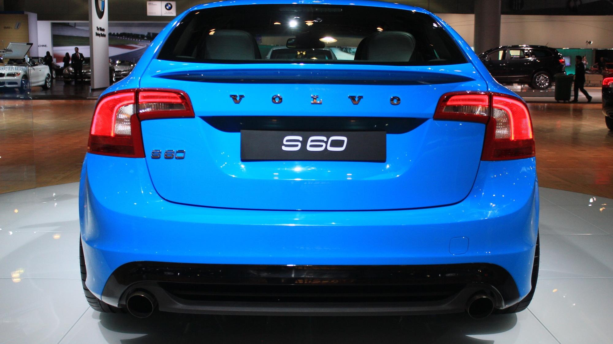 Volvo S60 Polestar Concept, 2012 L.A. Auto Show