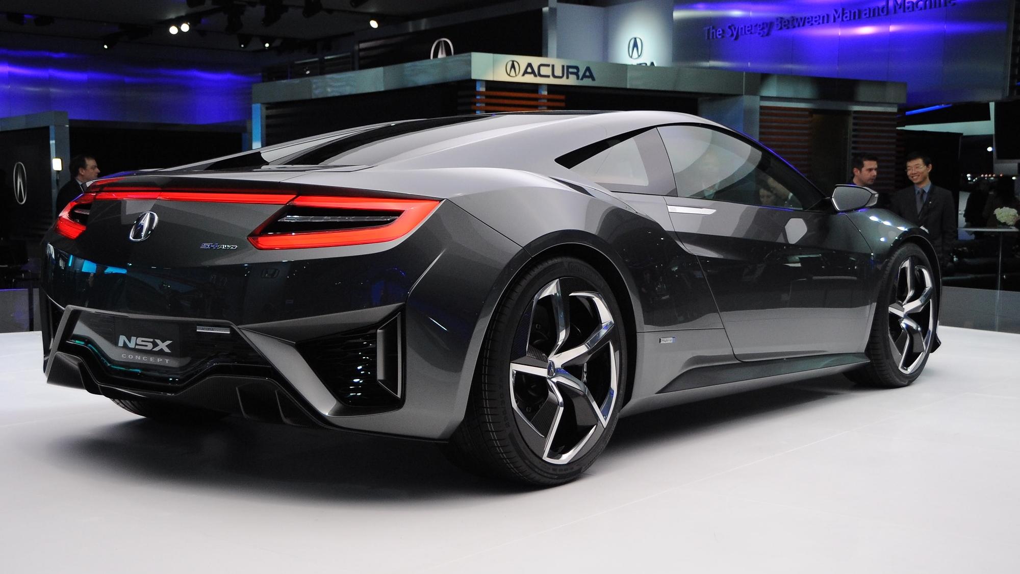 Updated Acura NSX Concept Live Photos: 2013 Detroit Auto Show