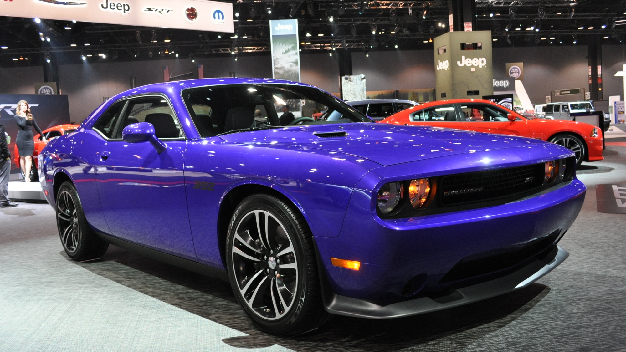 2013 Dodge Challenger SRT8 Core Live Shots