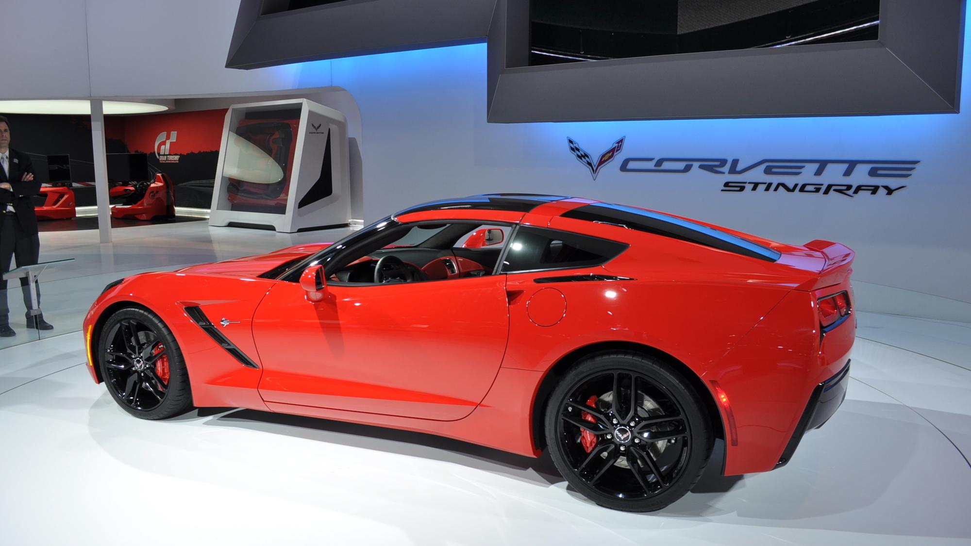 2014 Chevrolet Corvette Stingray Live Shots