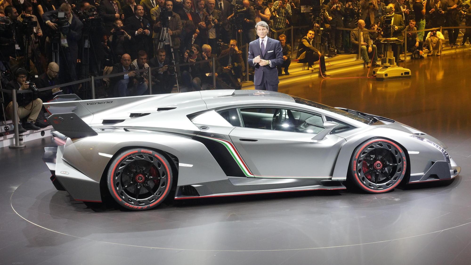 Lamborghini Veneno, 2013 Geneva Motor Show