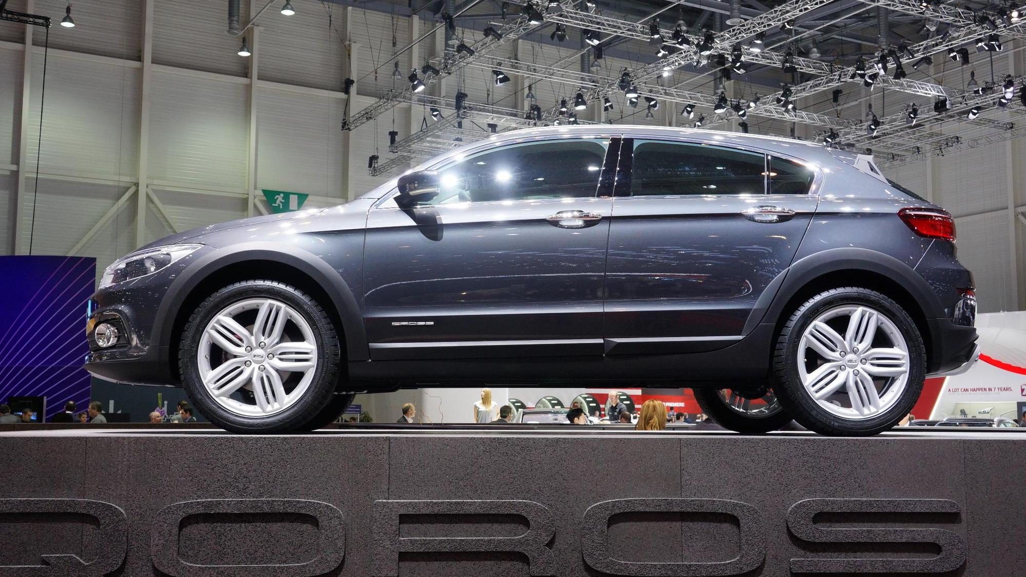 Qoros 3 Cross Hybrid Concept, Geneva Motor Show