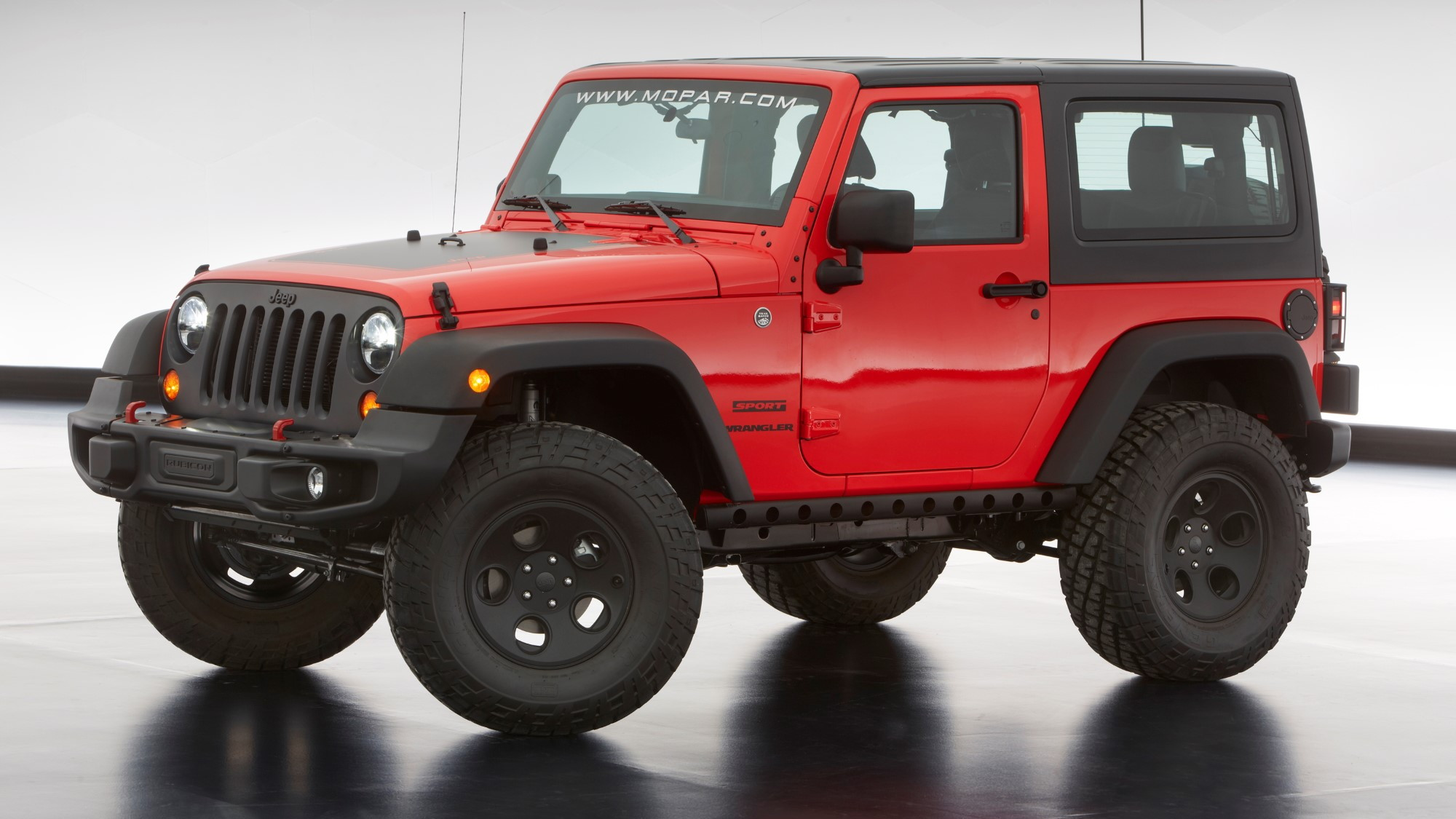 Jeep Wrangler Slim, 2013 Moab Easter Jeep Safari Concept