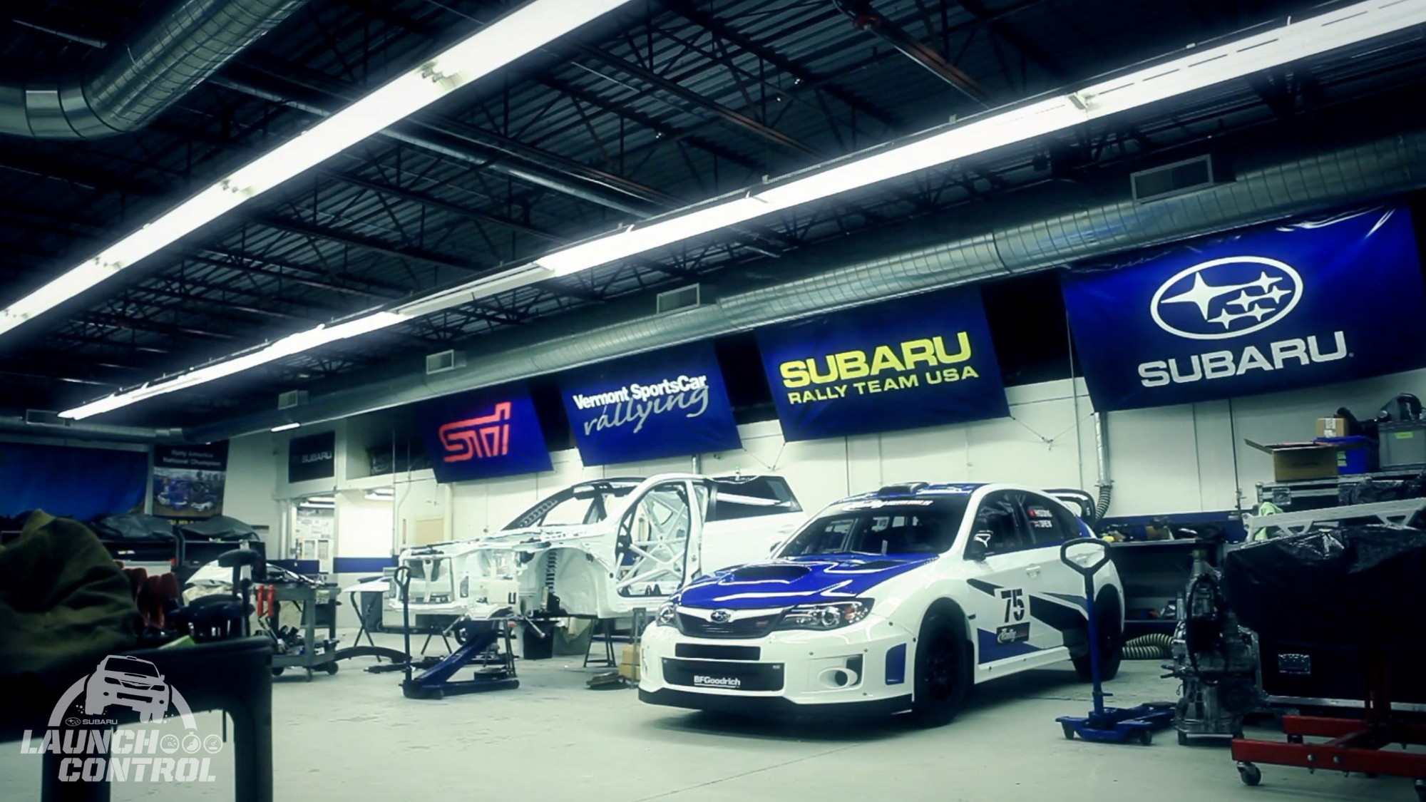 Subaru's new web series 'Launch Control'