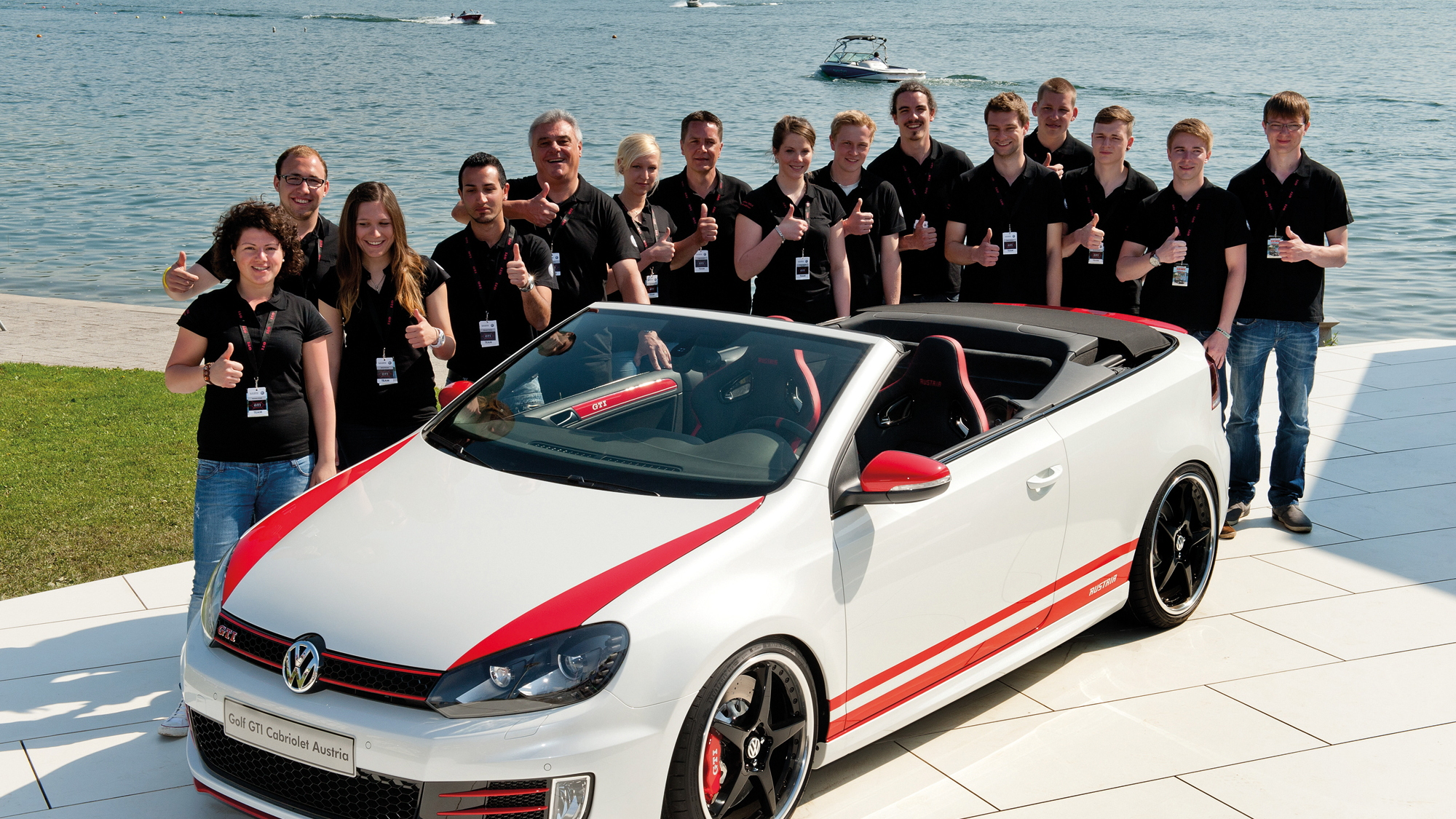 Apprentice-Built Wörthersee VW Golf GTI Cabrio