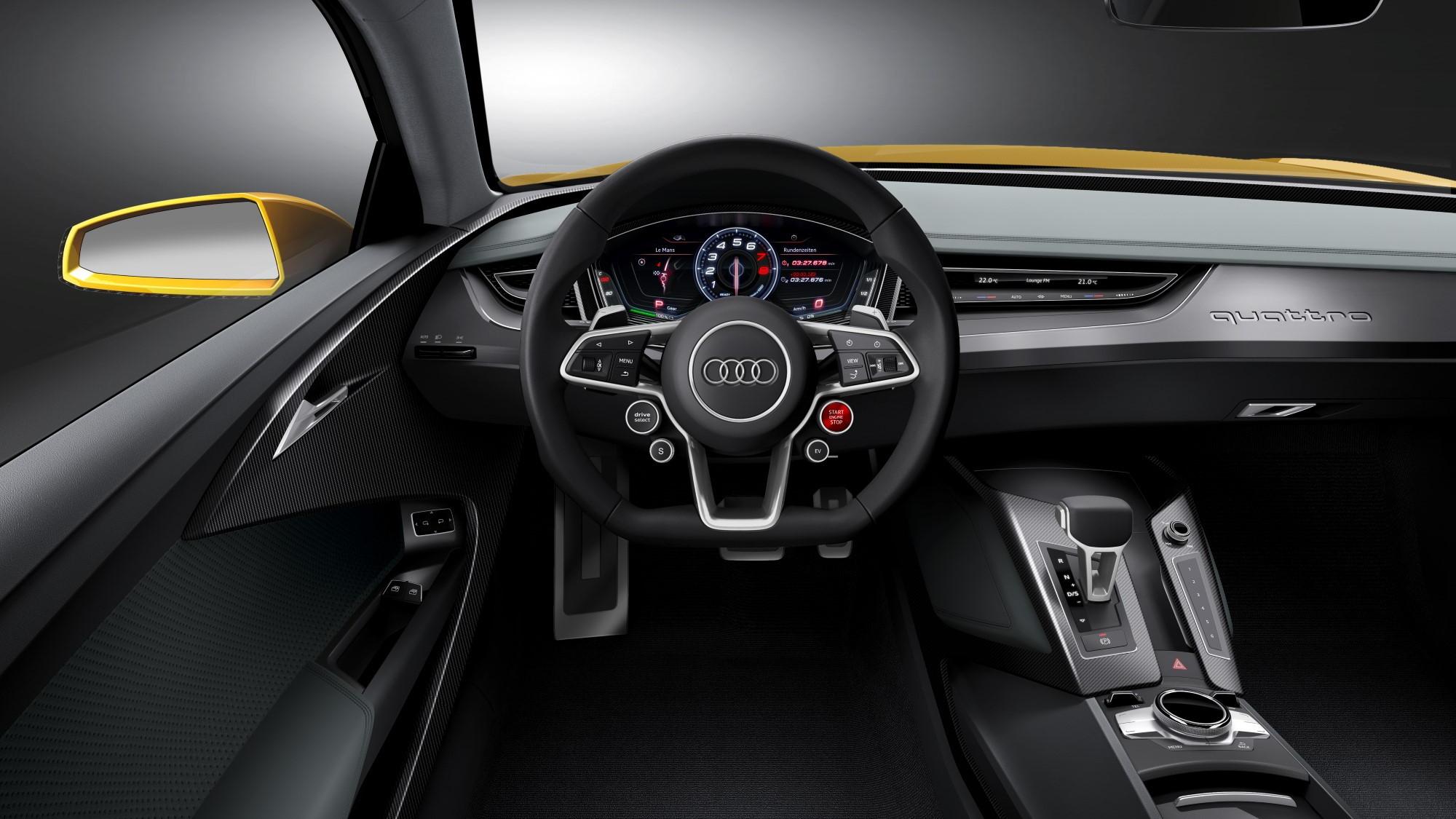 Audi Sport quattro concept, 2013 Frankfurt Auto Show