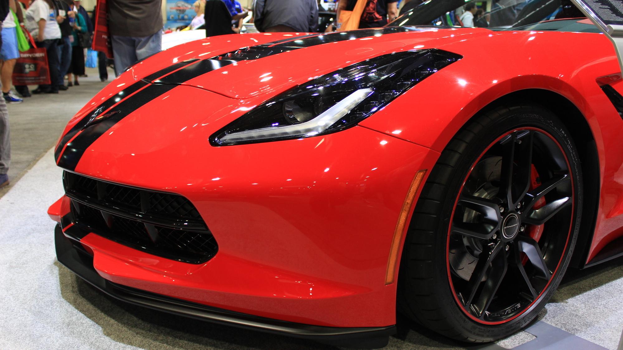 Chevrolet Corvette Stingray Pacific Concept, 2013 SEMA Show