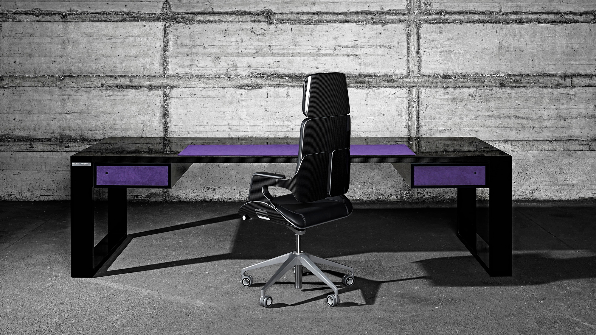 John and Table carbon fiber office furniture