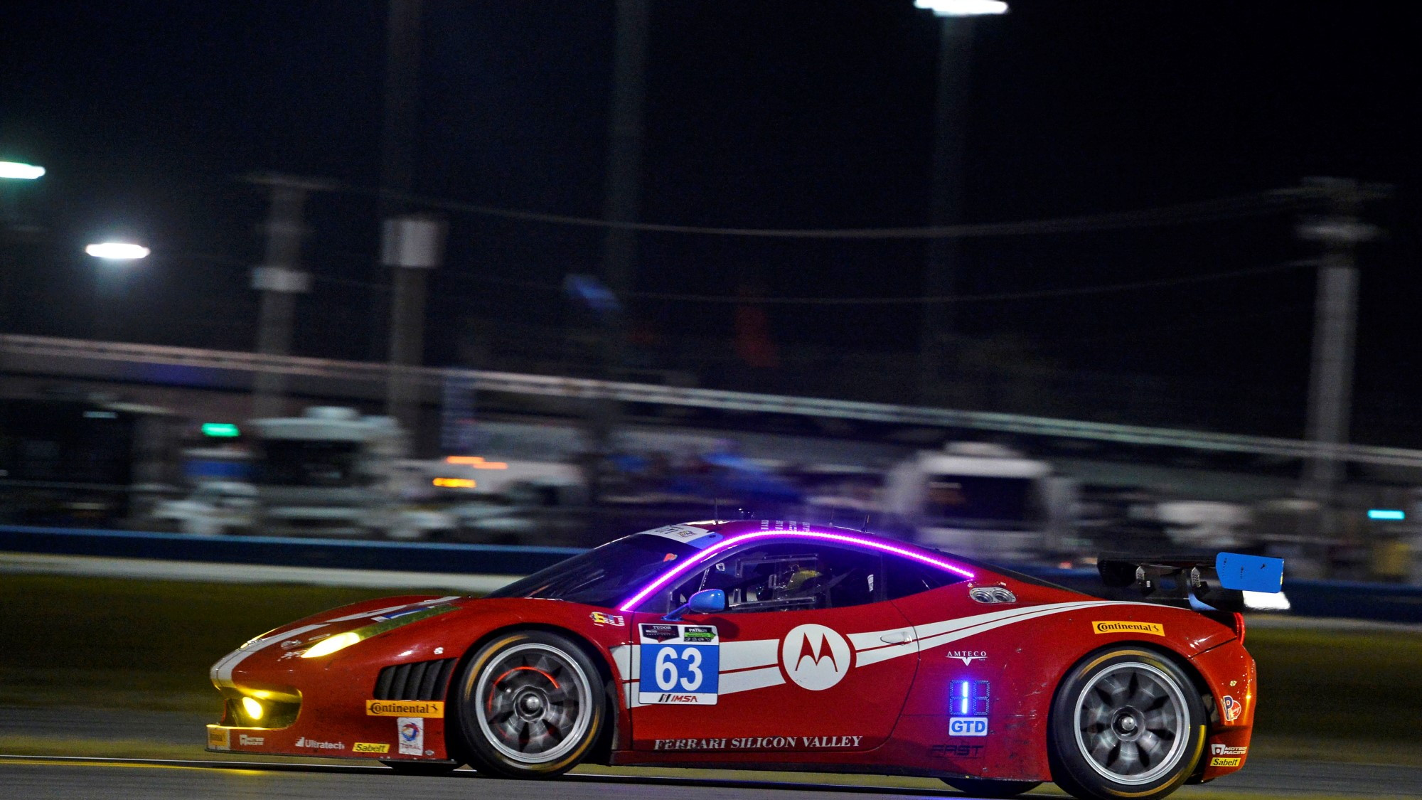 Ferrari at the 2014 Daytona 24 Hours