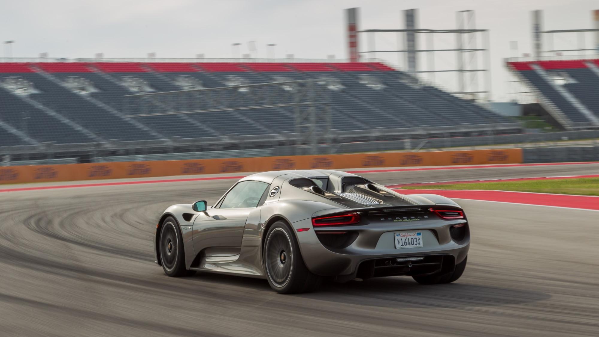 2015 Porsche 918 Spyder Plug In Hybrid Supercar Driven