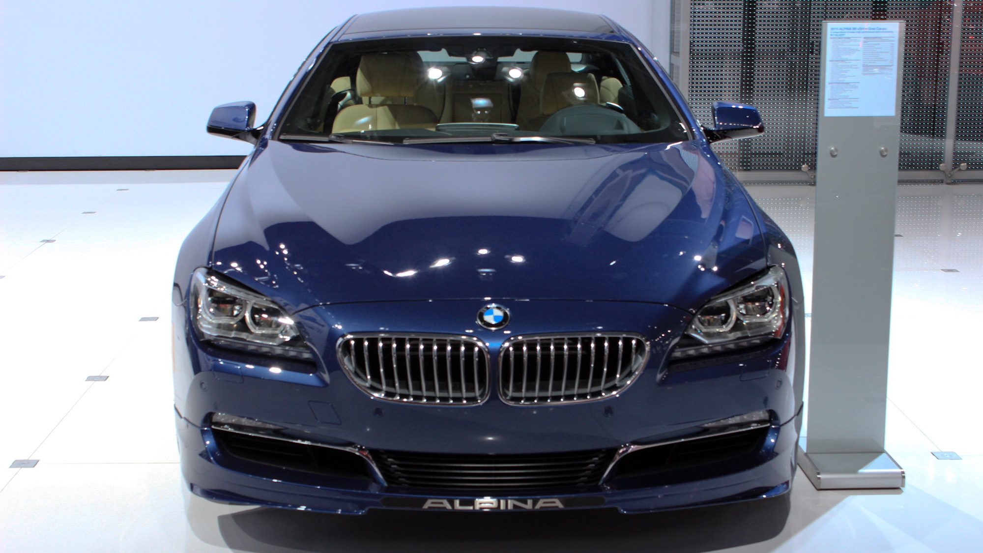 2015 BMW Alpina B6 xDrive Gran Coupe, 2014 New York Auto Show