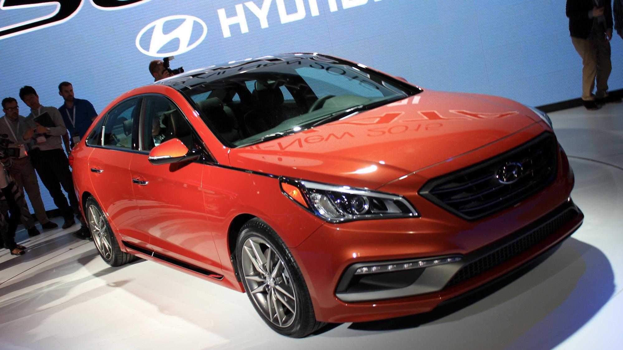 2015 Hyundai Sonata, 2014 New York Auto Show