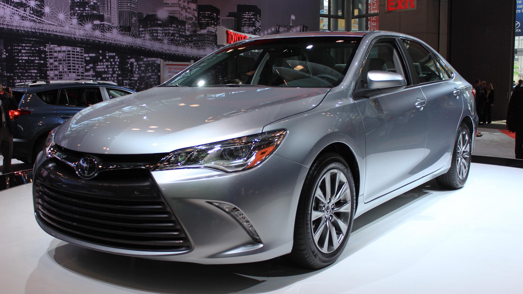 2015 Toyota Camry, 2014 New York Auto Show