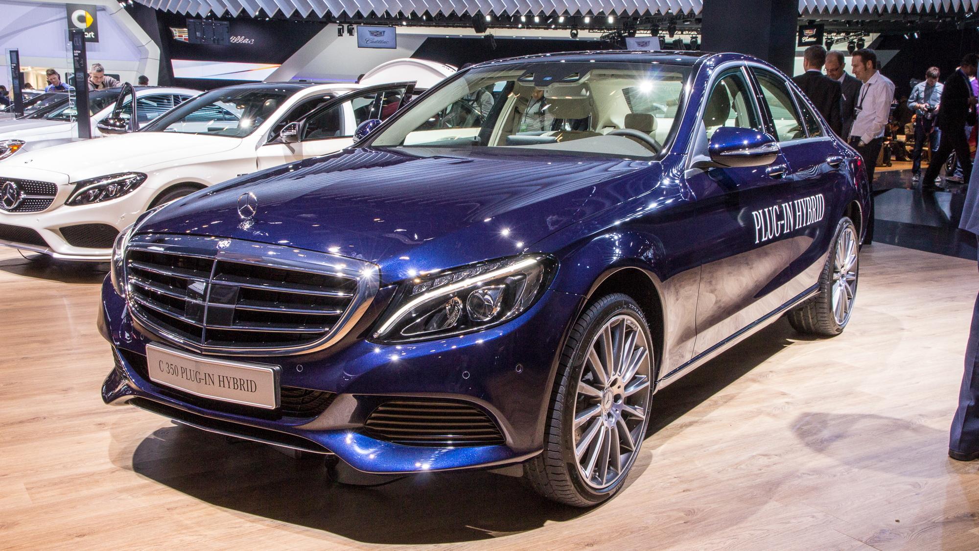 2016 Mercedes Benz C350 Plug In Hybrid Live Photos 2017 Detroit Auto Show
