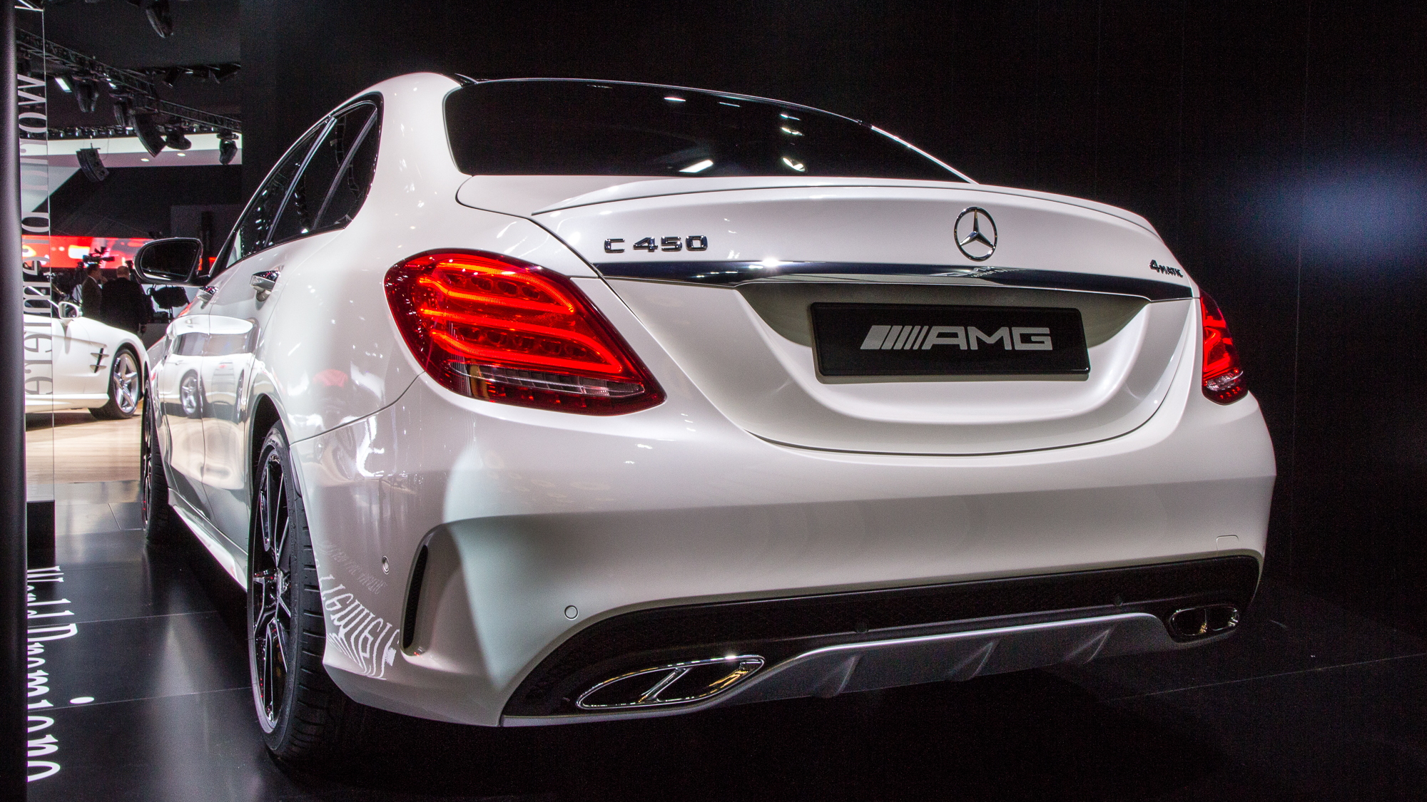 2016 Mercedes-Benz C450 AMG 4Matic live photos, 2015 Detroit Auto Show