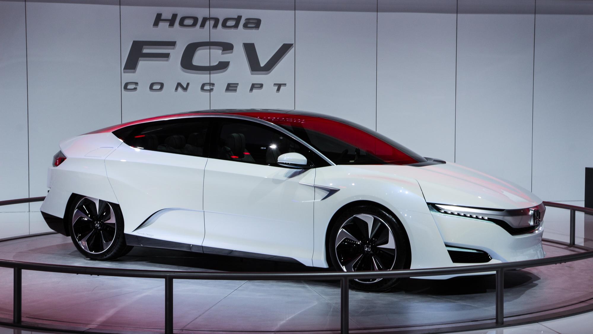 Honda FCV Concept live photos, 2015 Detroit Auto Show