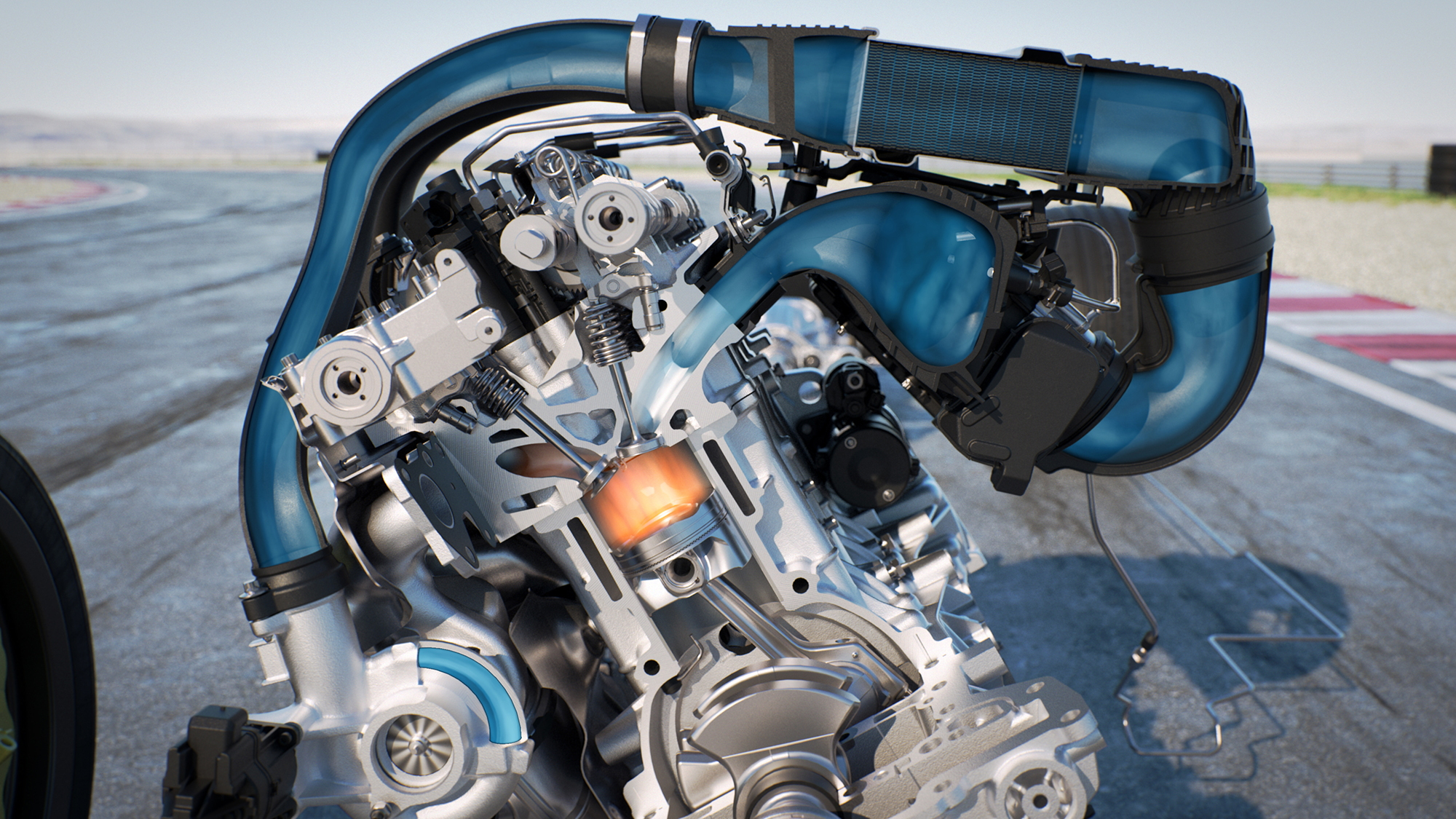 BMW Safety Moto GP Water Injection