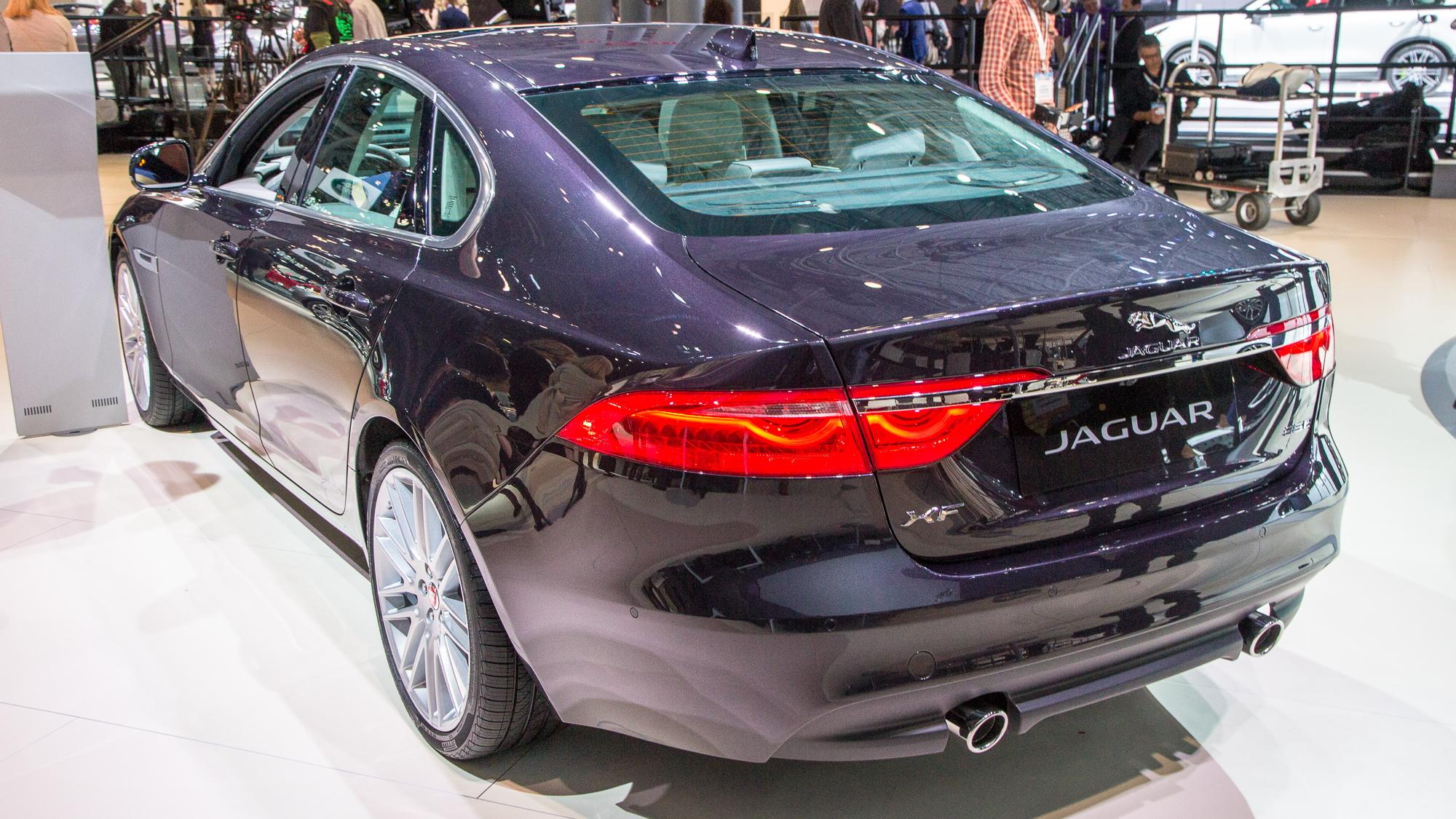 2016 Jaguar XF, 2015 New York Auto Show