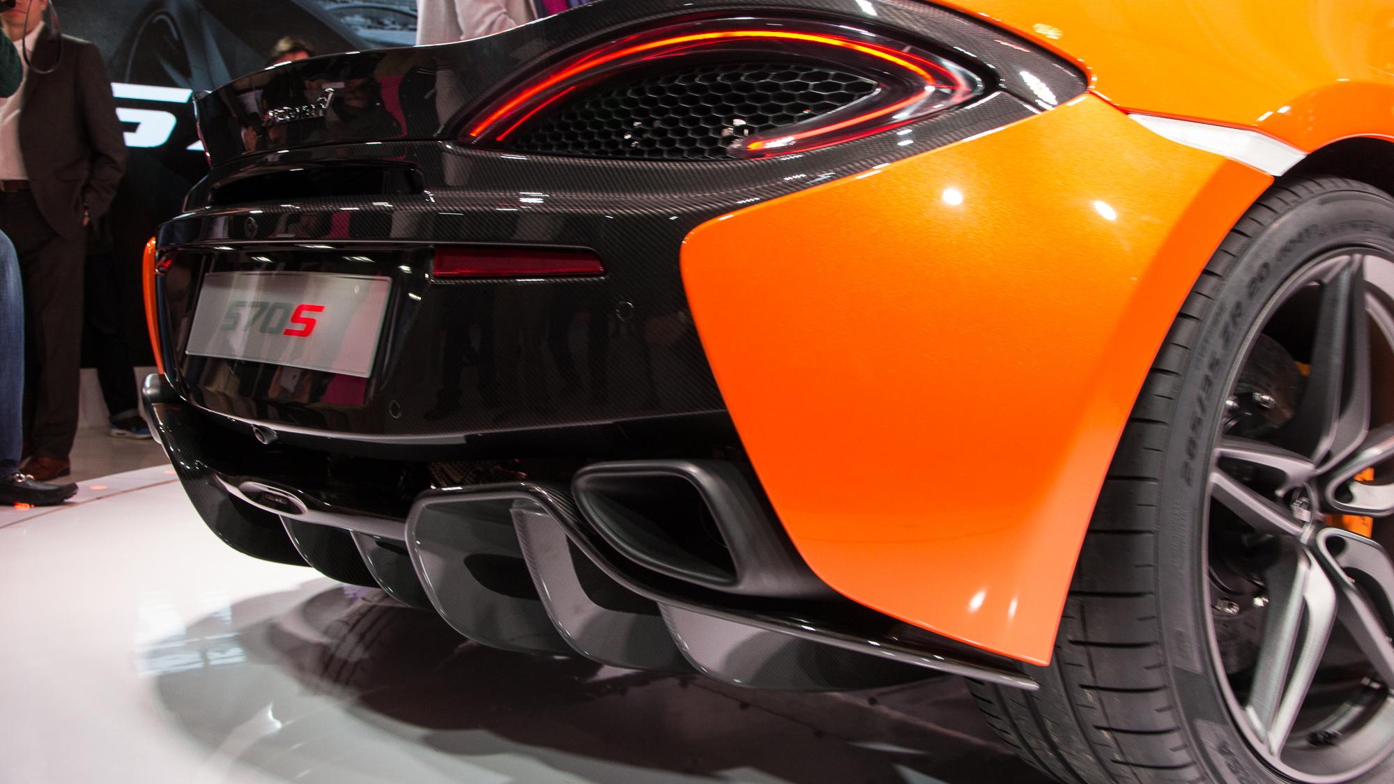 McLaren 570S Coupe live photos, 2015 New York Auto Show