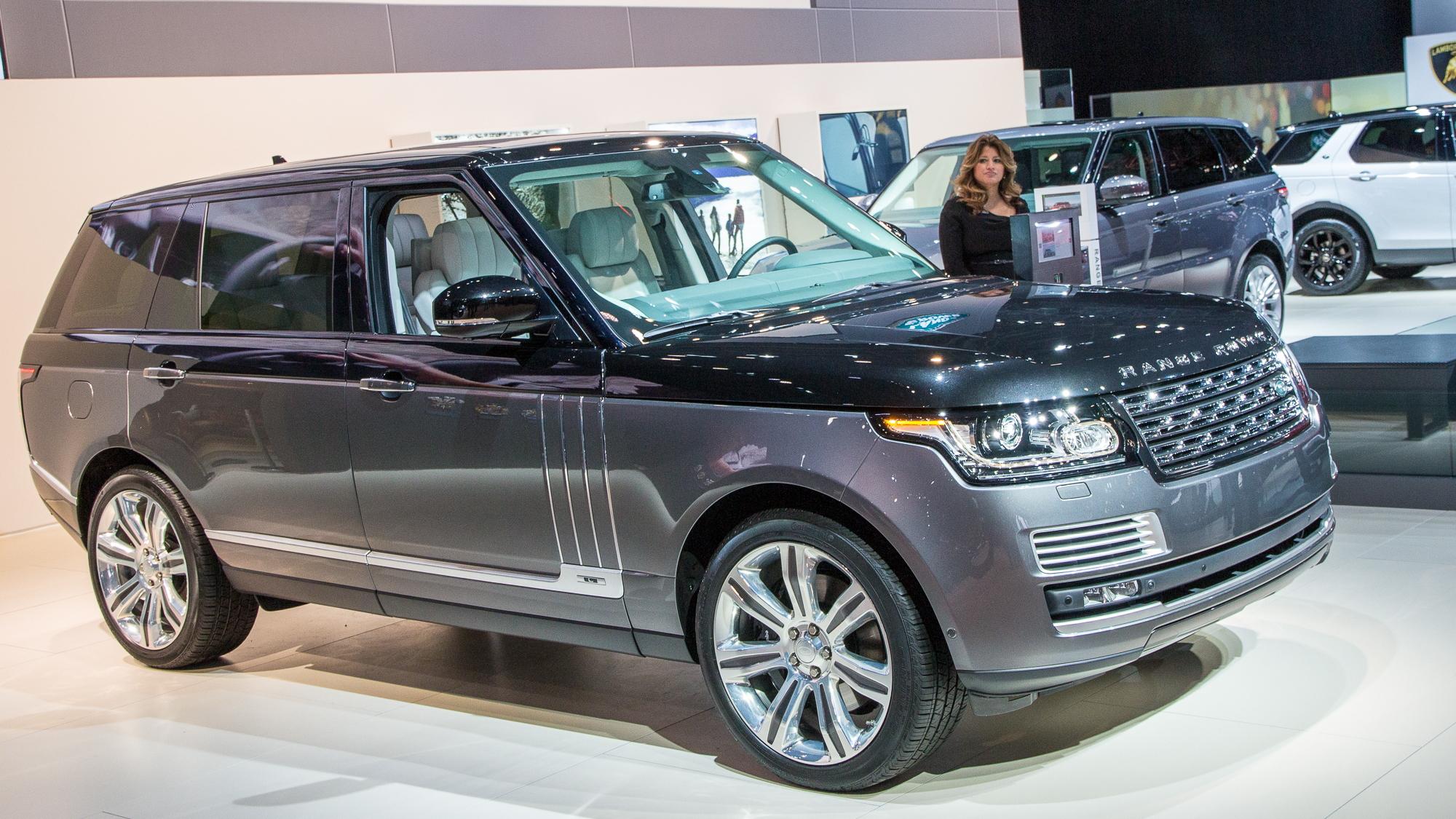 Range Rover SVAutobiography, 2015 New York Auto Show