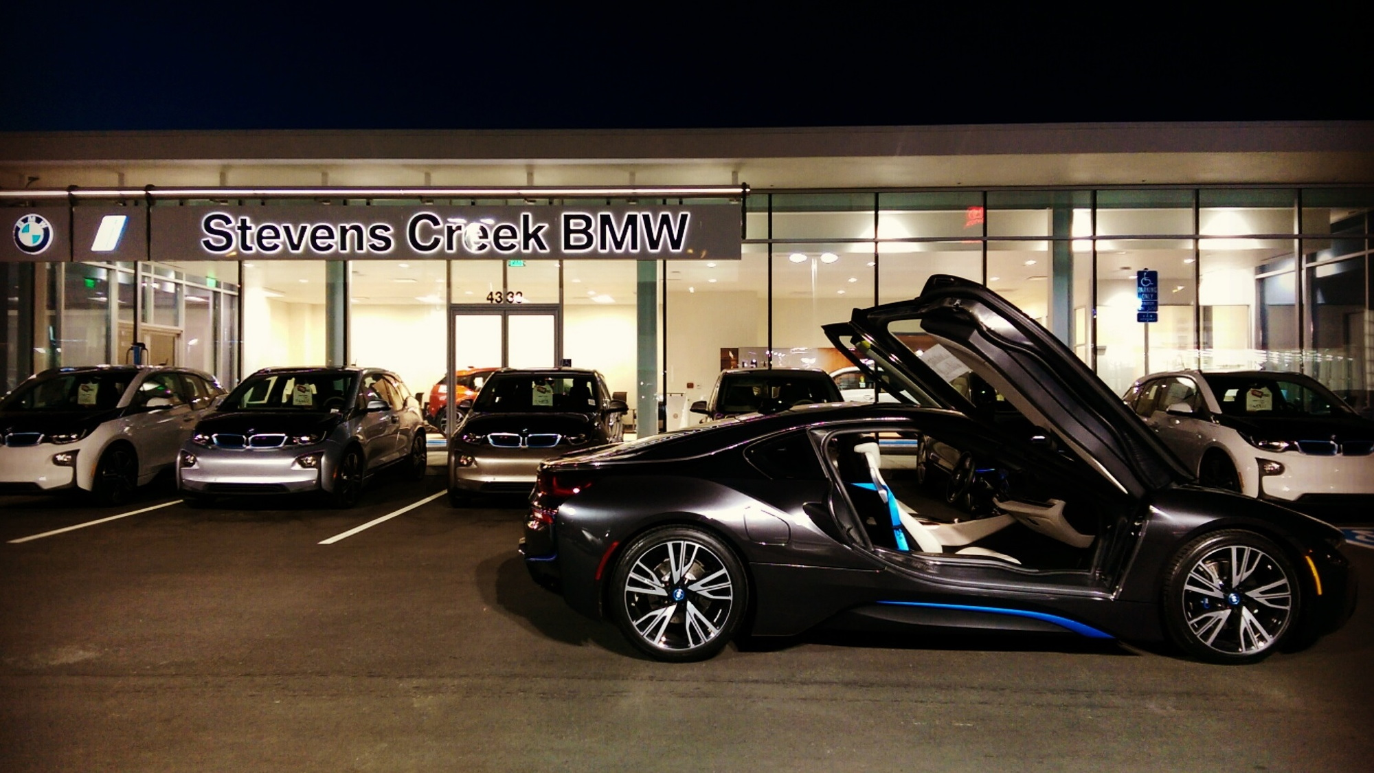 Stevens Creek BMW i Center, Santa Clara, California, May 2015 opening