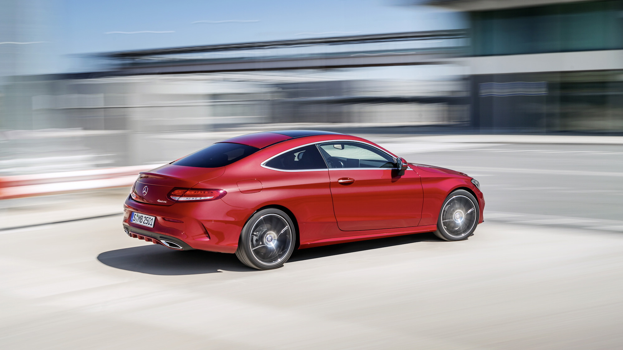 2017 Mercedes Benz C Class Coupe 2015 Frankfurt Auto Show Preview