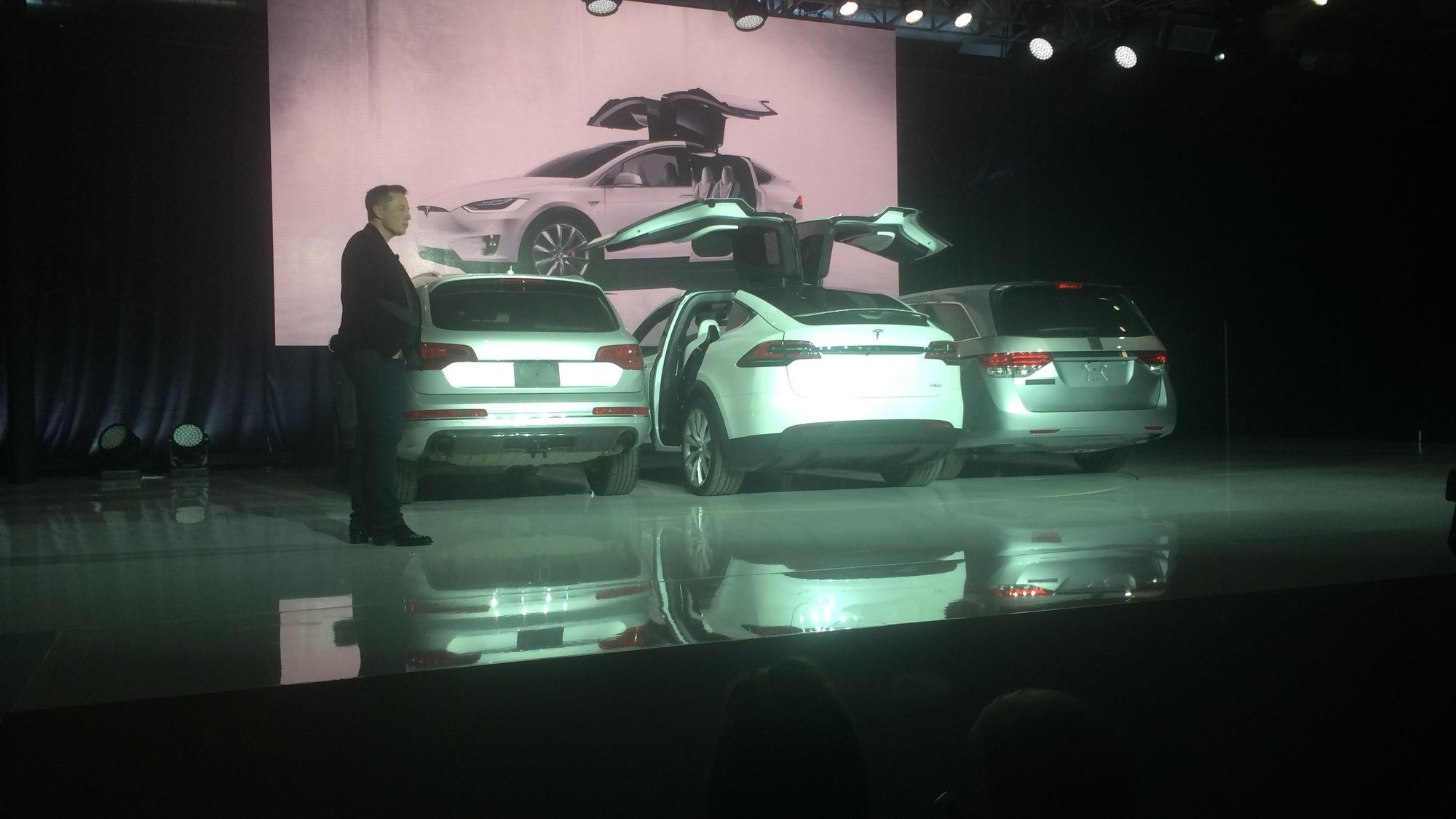 2016 Tesla Model X Launch in Fremont
