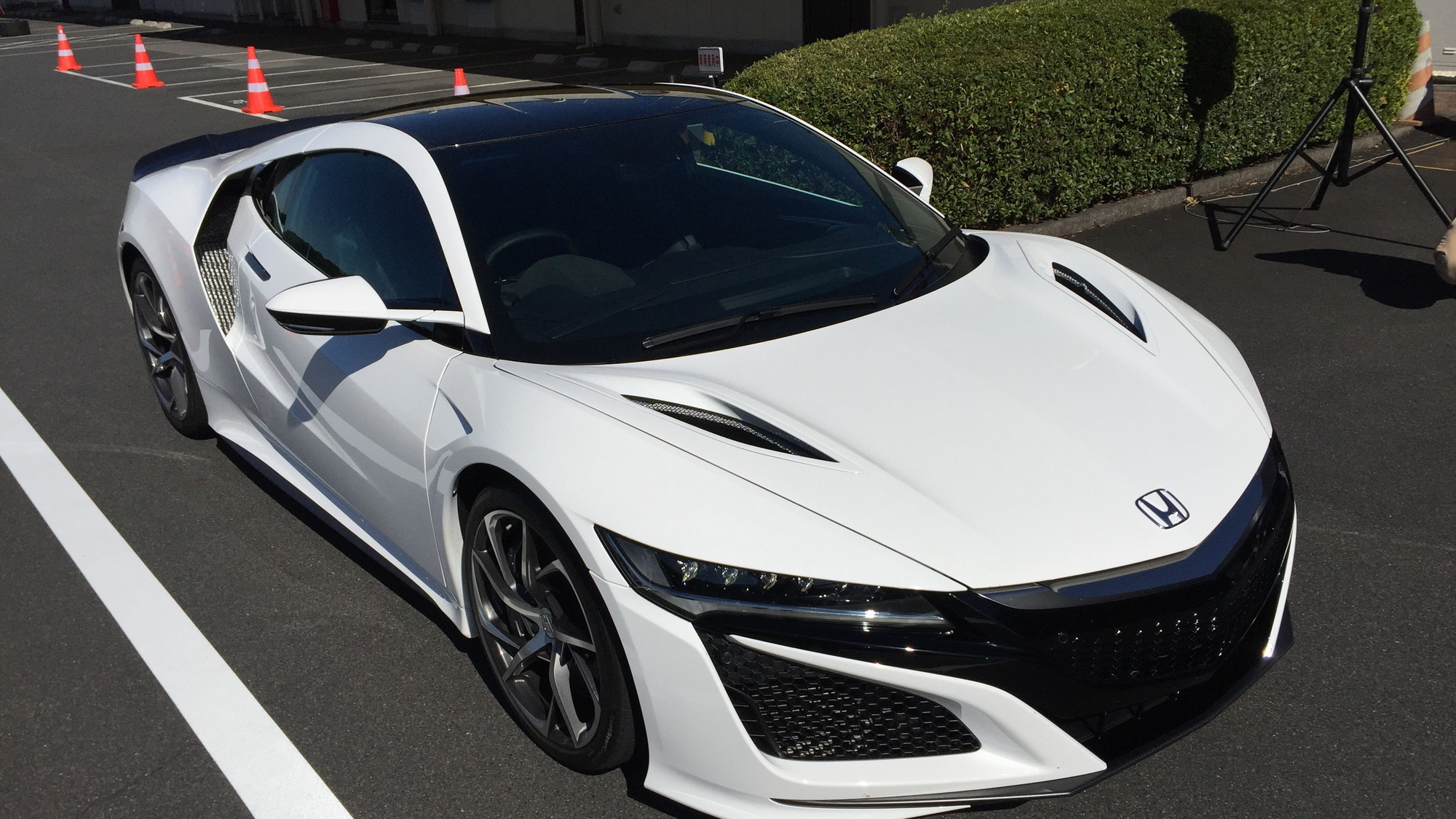 Acura NSX, Honda R&D Center, Oct. 2015